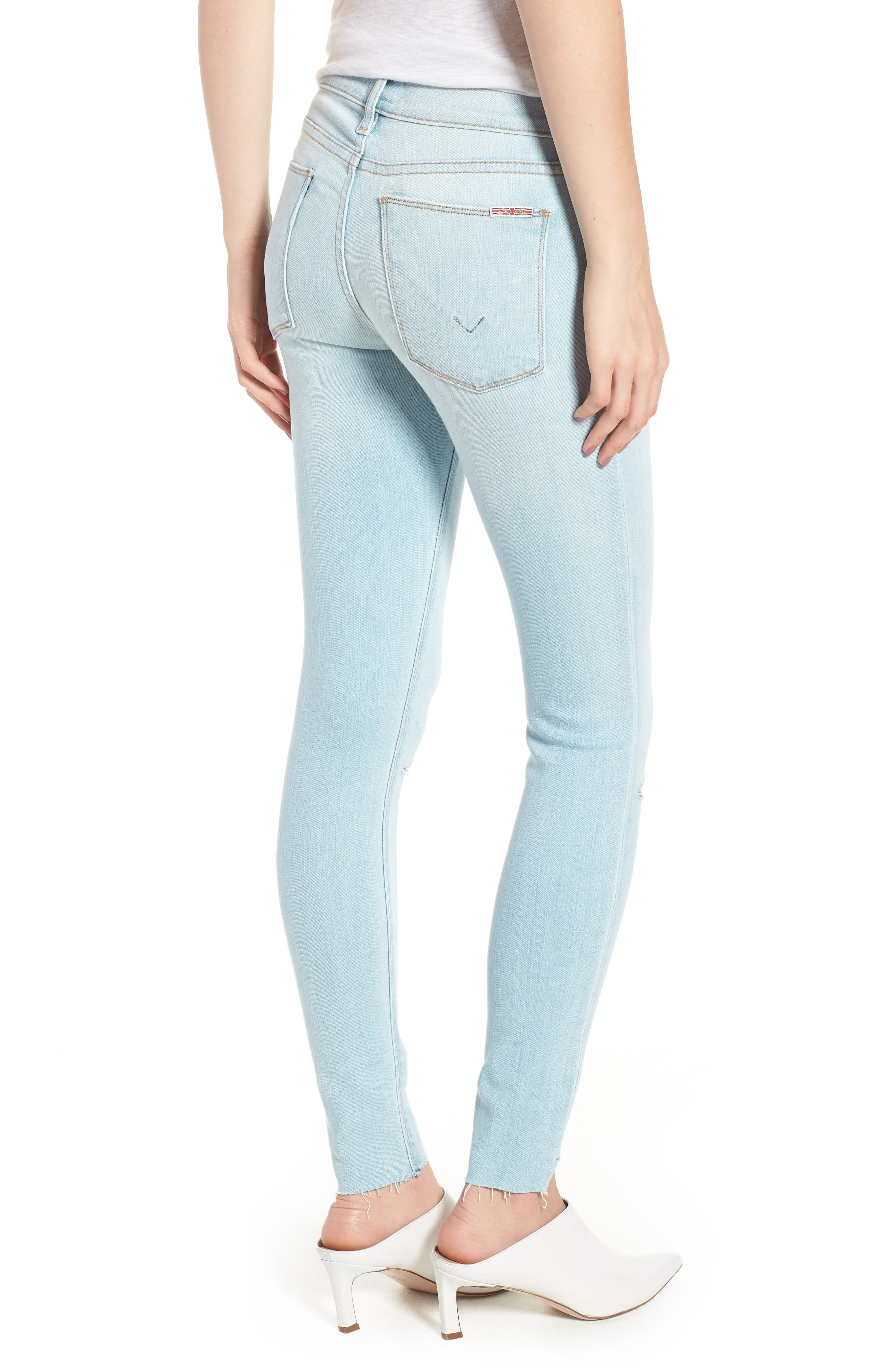 Krista Ankle Super Skinny Jeans,                             Alternate thumbnail 2, color,                             In Love