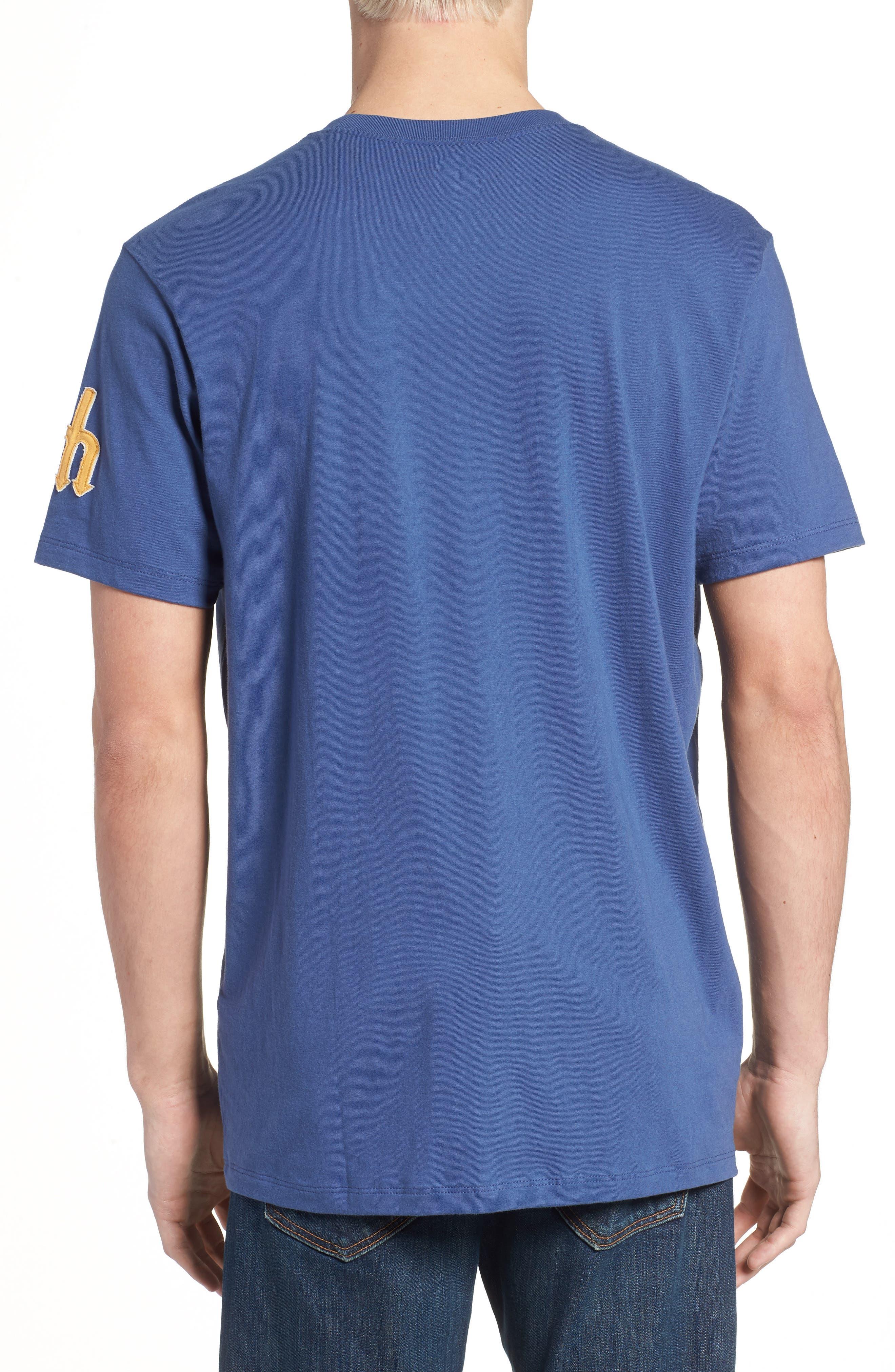 MLB Vintage Fieldhouse Seattle Mariners T-Shirt,                             Alternate thumbnail 2, color,                             Bleacher Blue