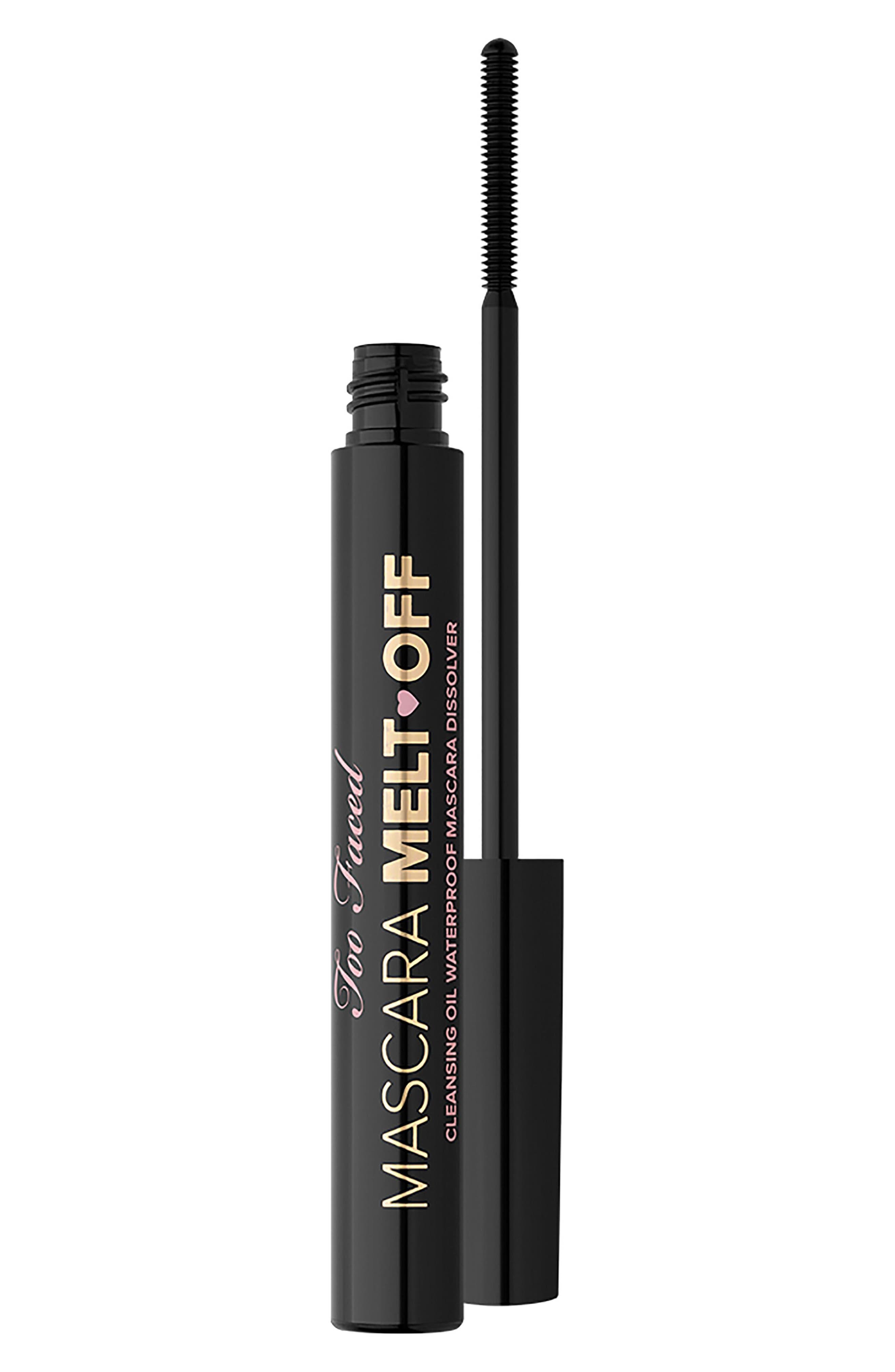 Mascara Melt Off Cleansing Oil,                         Main,                         color, No Color