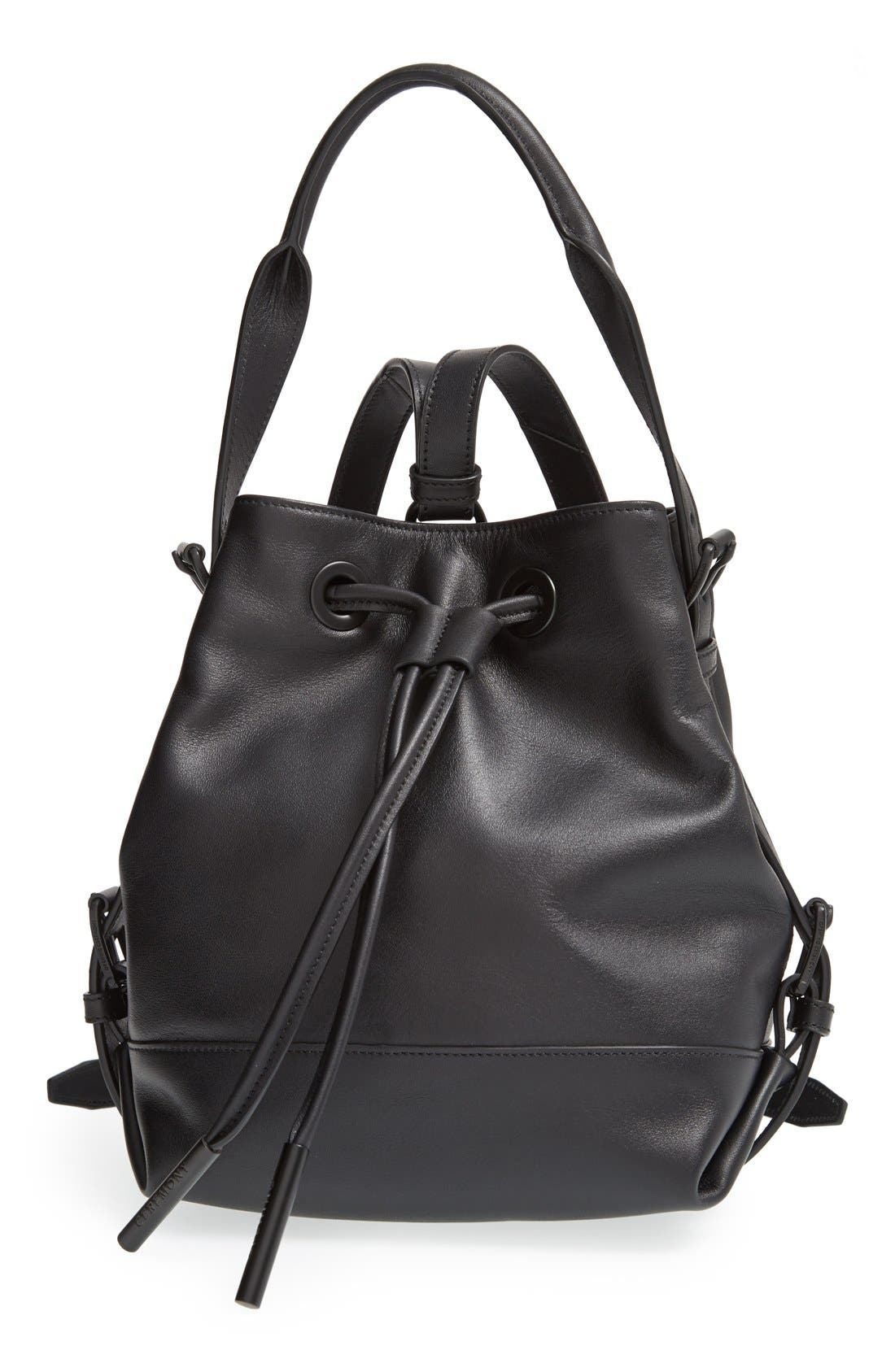 Alternate Image 1 Selected - Opening Ceremony 'Mini Izzy' Convertible Leather Backpack