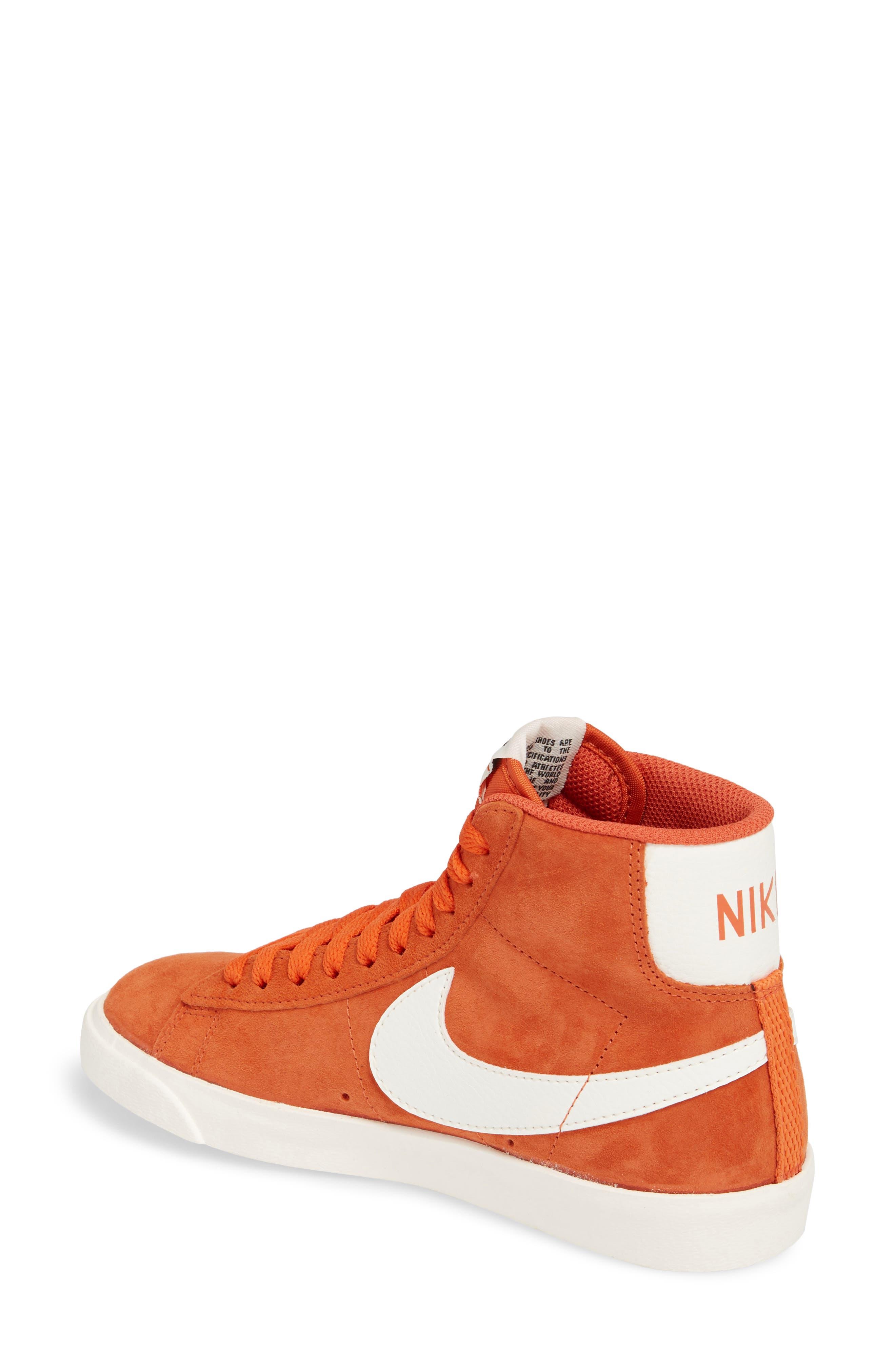 Alternate Image 2  - Nike Blazer Mid Vintage Sneakers (Women)