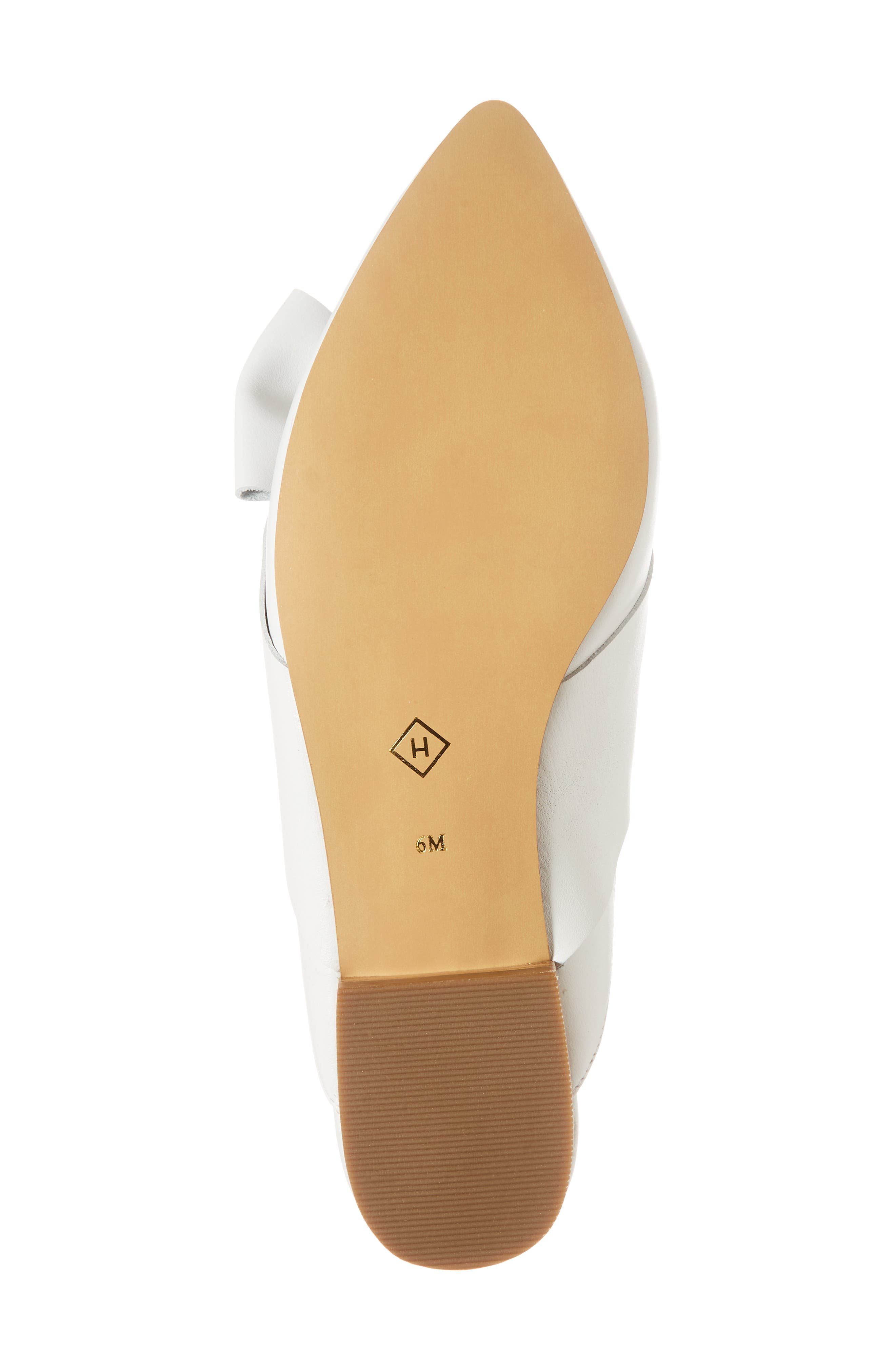 Coral Mule,                             Alternate thumbnail 6, color,                             White Leather