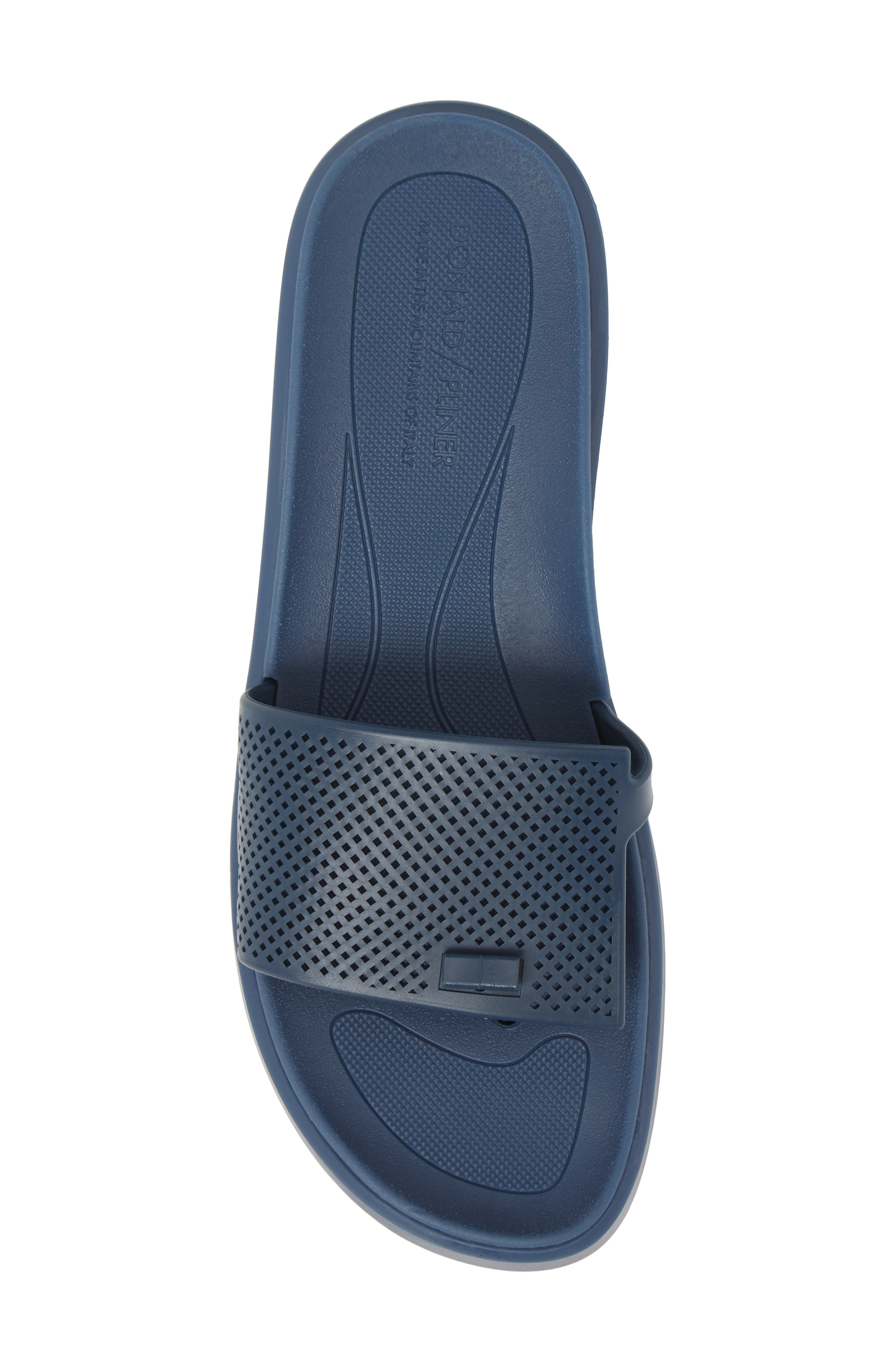Bondi Jelly Slide Sandal,                             Alternate thumbnail 5, color,                             Navy