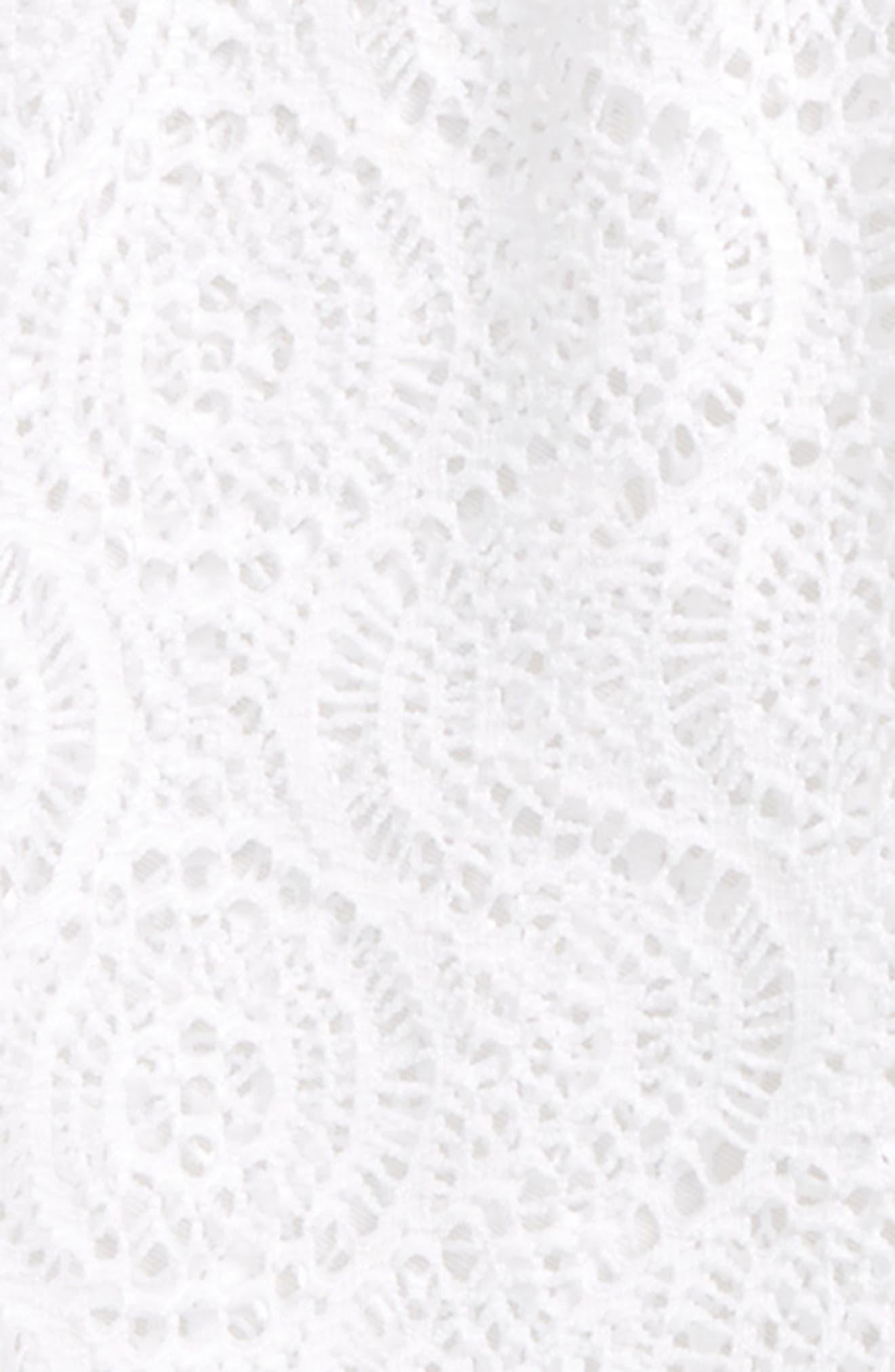 Alternate Image 2  - Kate Mack Crochet Cover-Up Tunic (Little Girls)