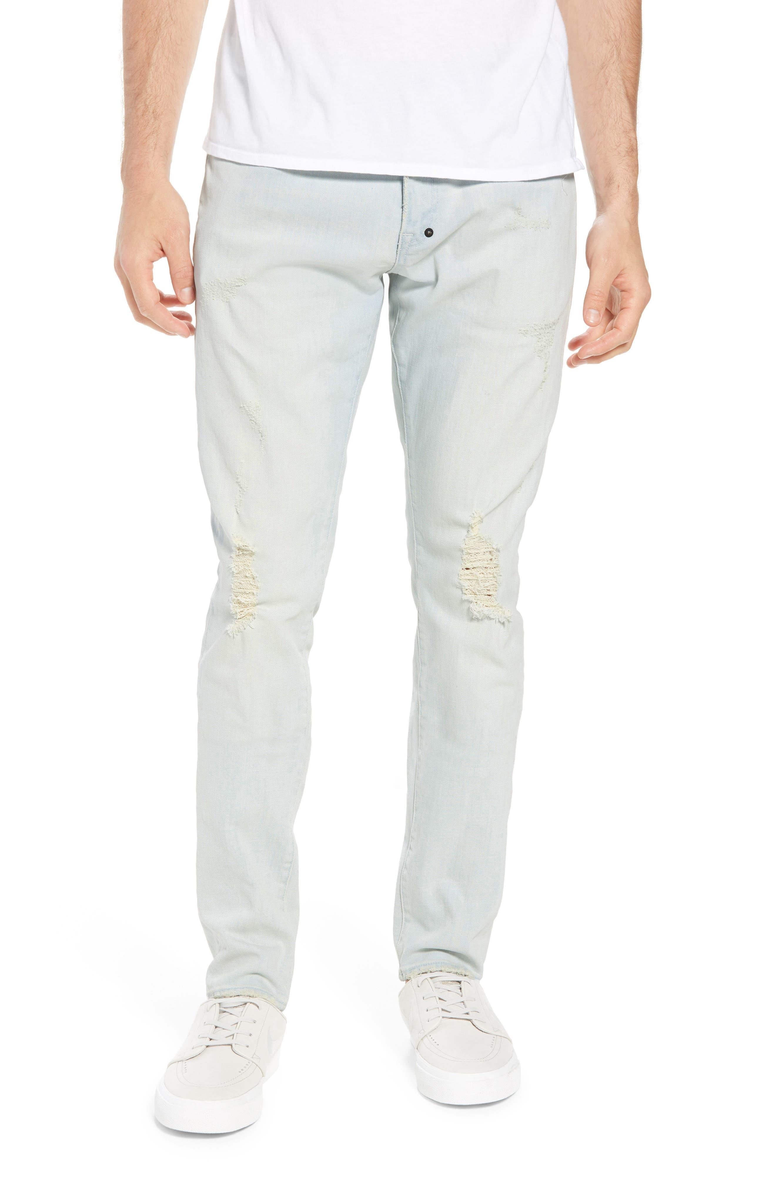Windsor Slim Fit Jeans,                         Main,                         color, Blue
