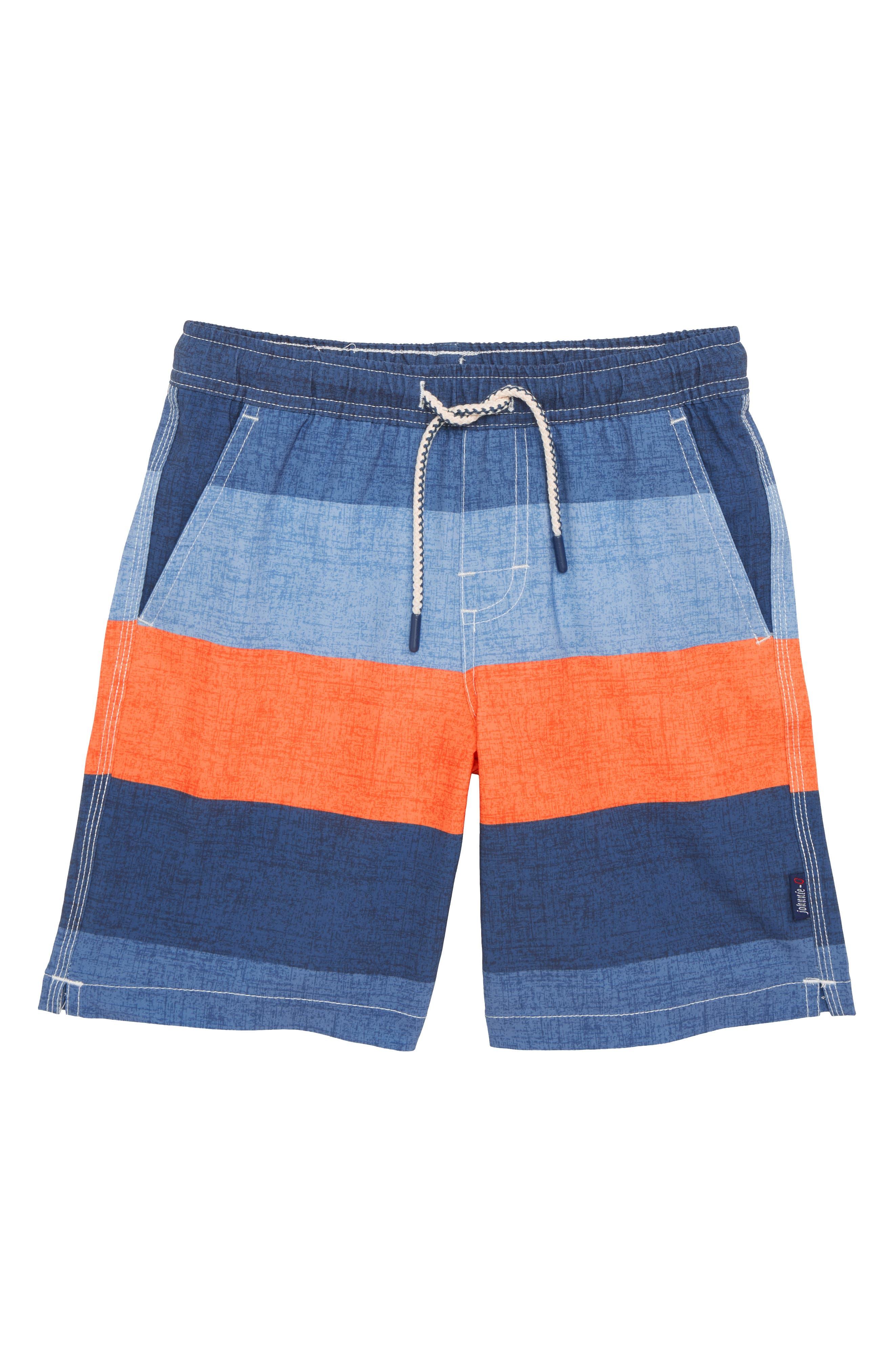johnnie-o Shore Swim Trunks (Little Boys)
