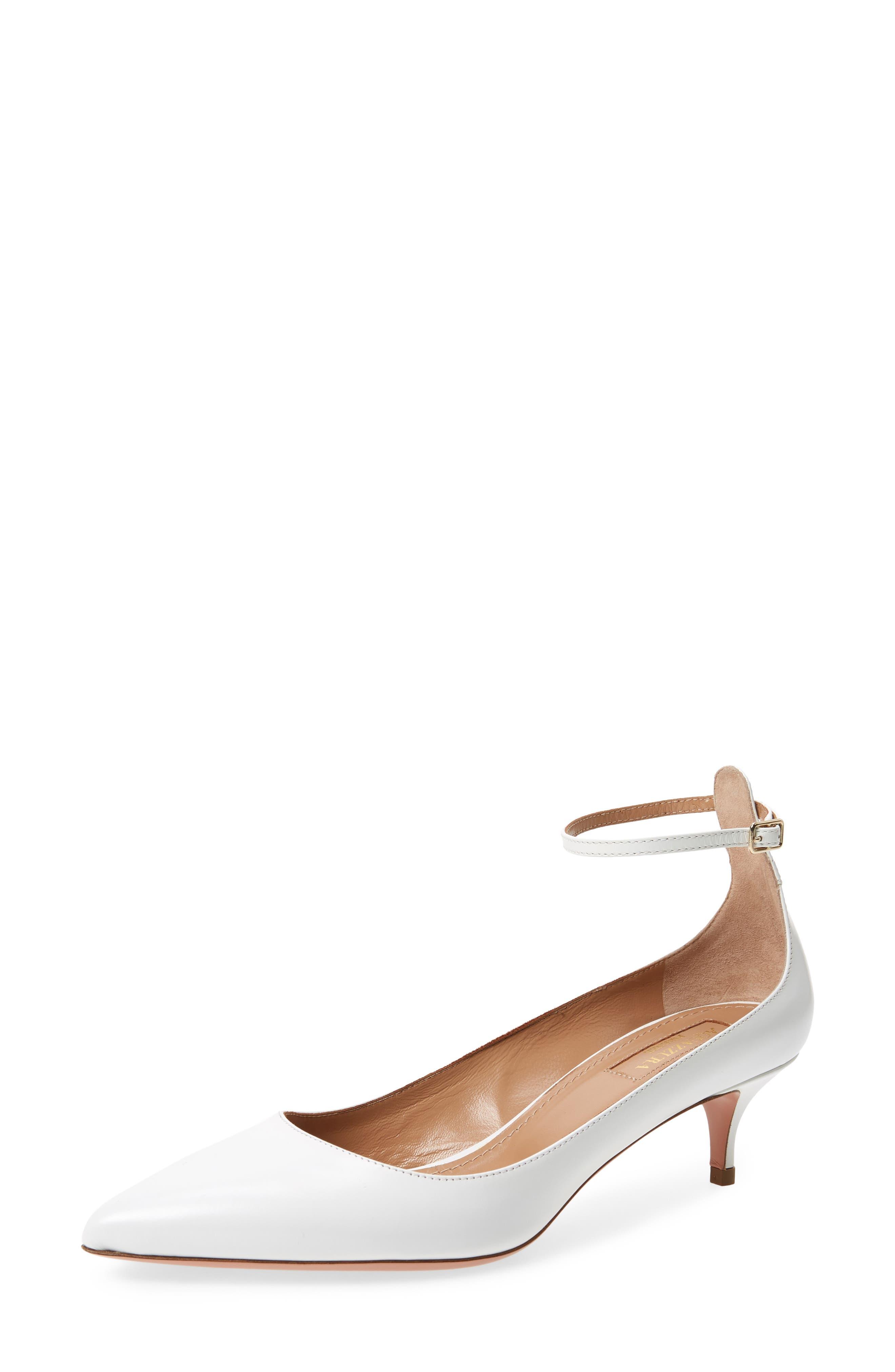 Aquazzura Kisha Ankle Strap Pump (Women)