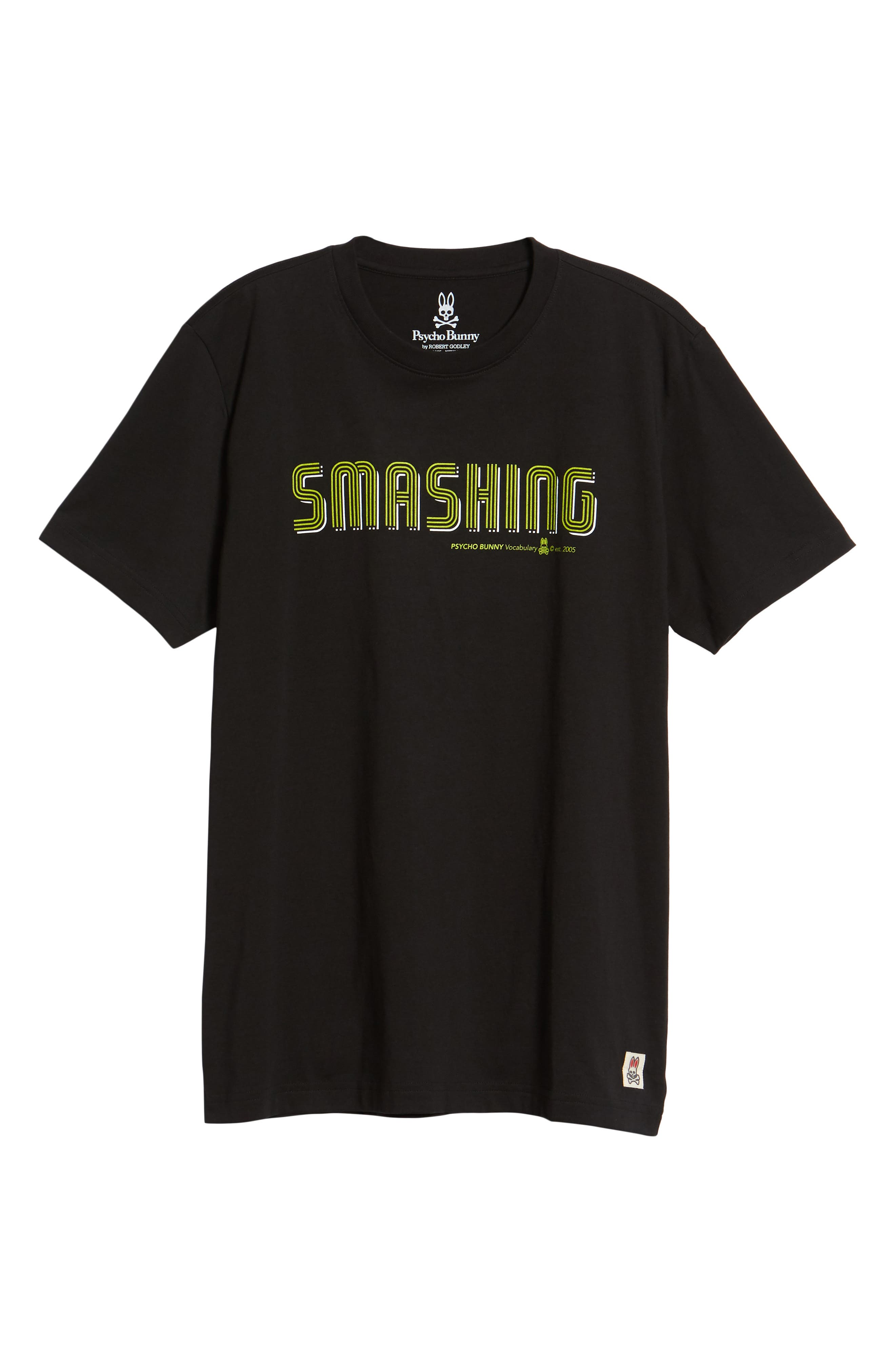 Smashing Graphic T-Shirt,                             Alternate thumbnail 6, color,                             Black
