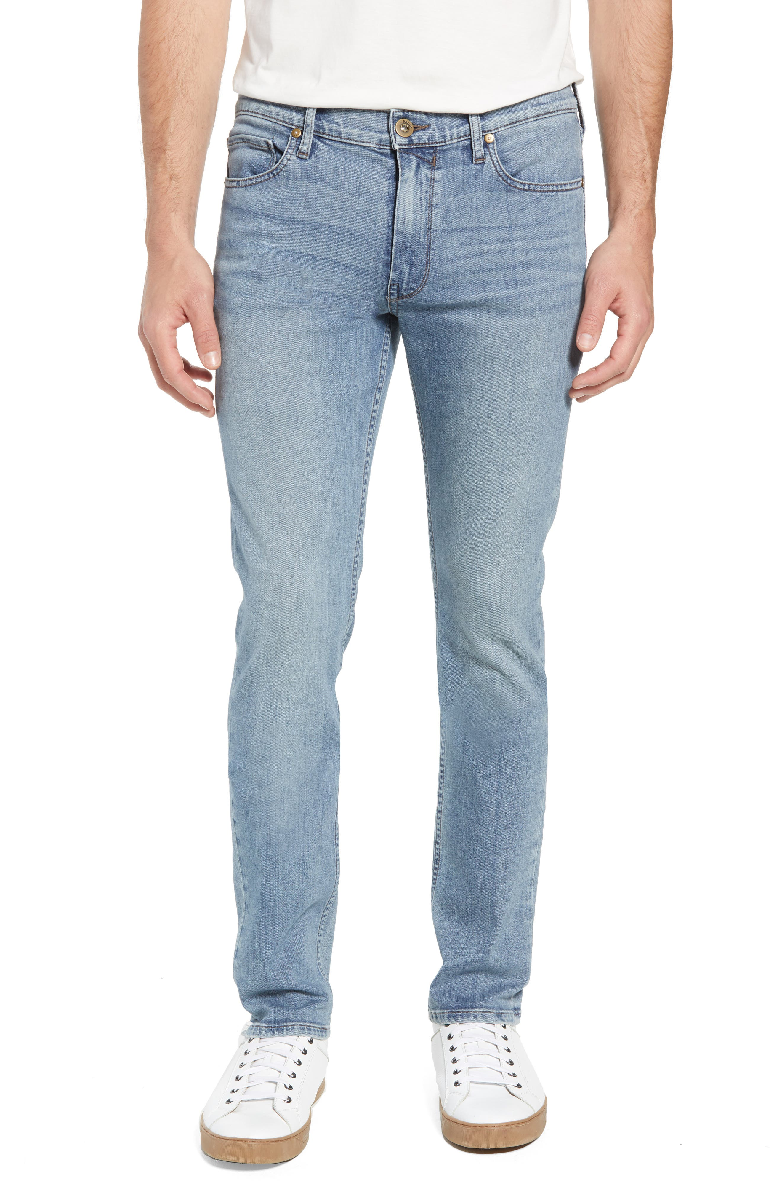 Transcend - Lennox Slim Fit Jeans,                             Main thumbnail 1, color,                             Porter