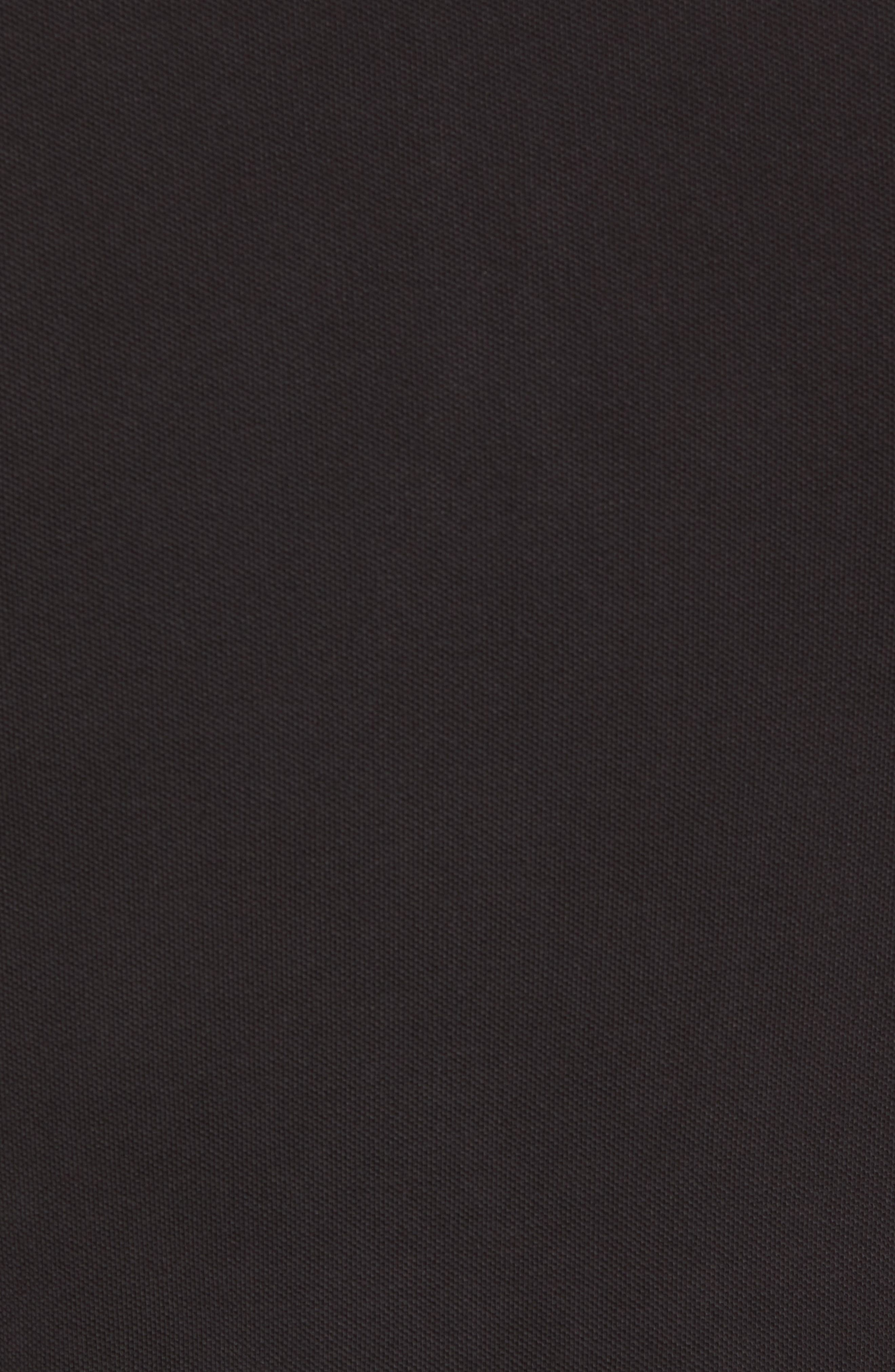 Prime Slim Fit Polo,                             Alternate thumbnail 5, color,                             Black