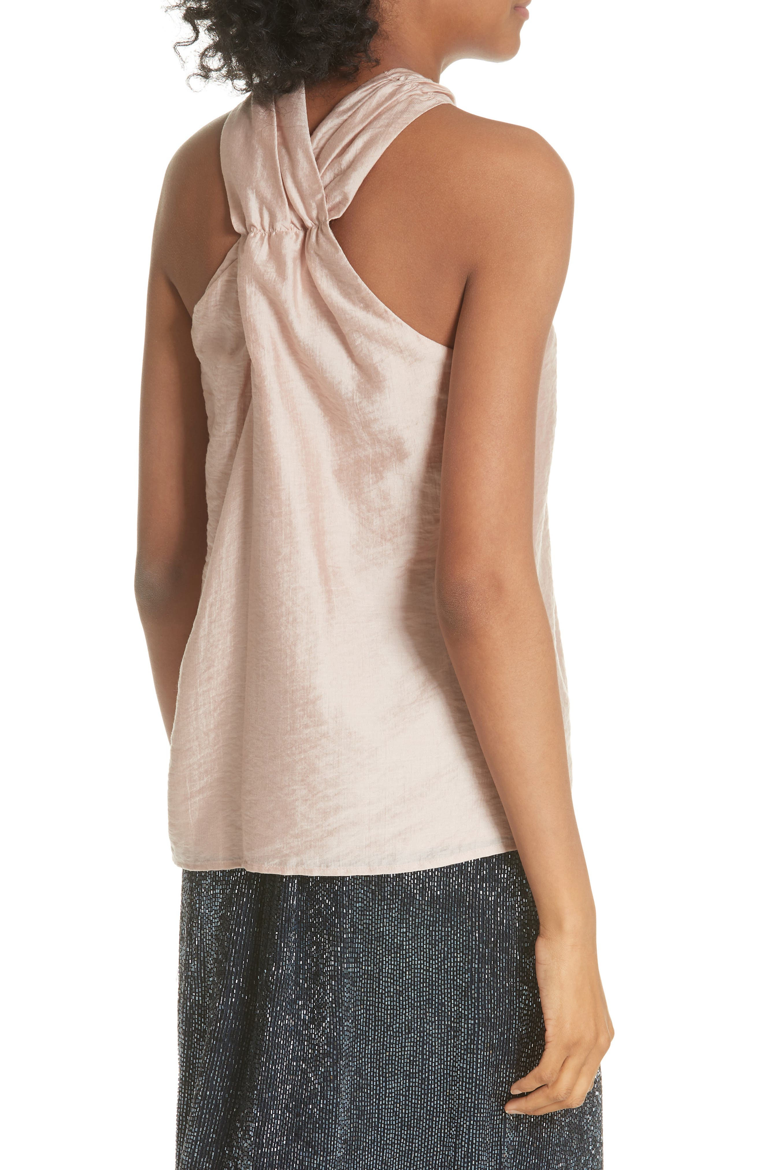 Earldena Top,                             Alternate thumbnail 3, color,                             Blush Sand