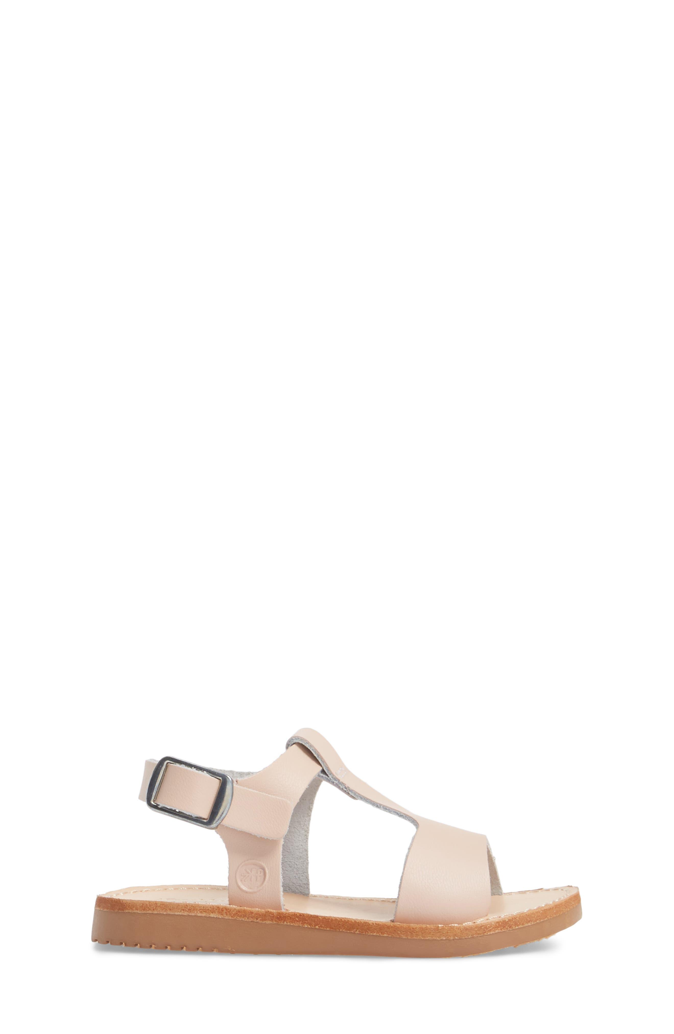 Malibu Water Resistant Sandal,                             Alternate thumbnail 3, color,                             Blush