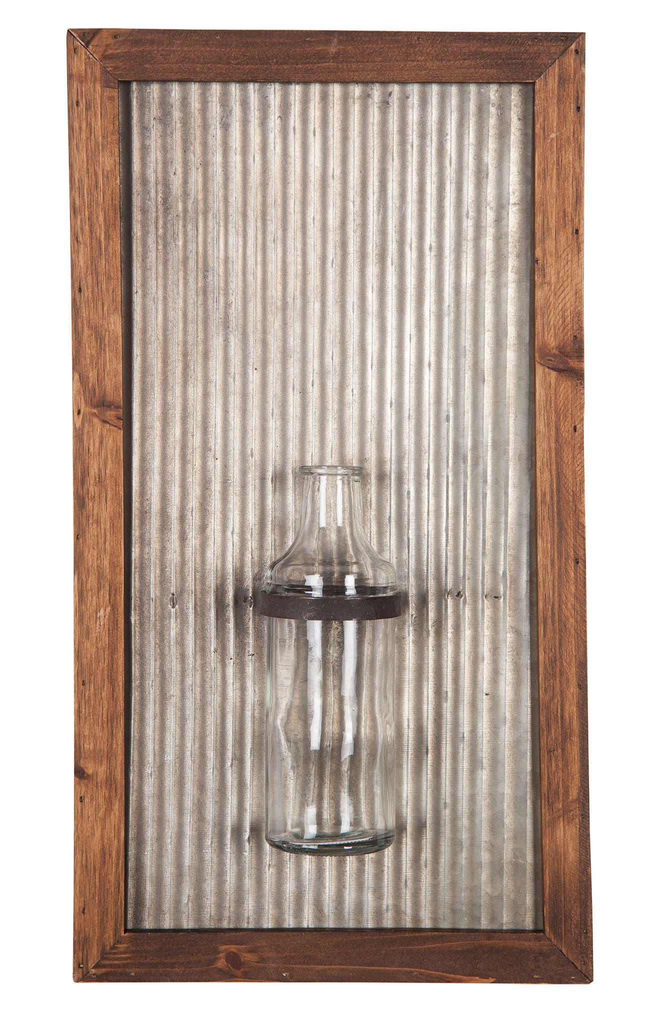 Foreside Framed Wall Vase