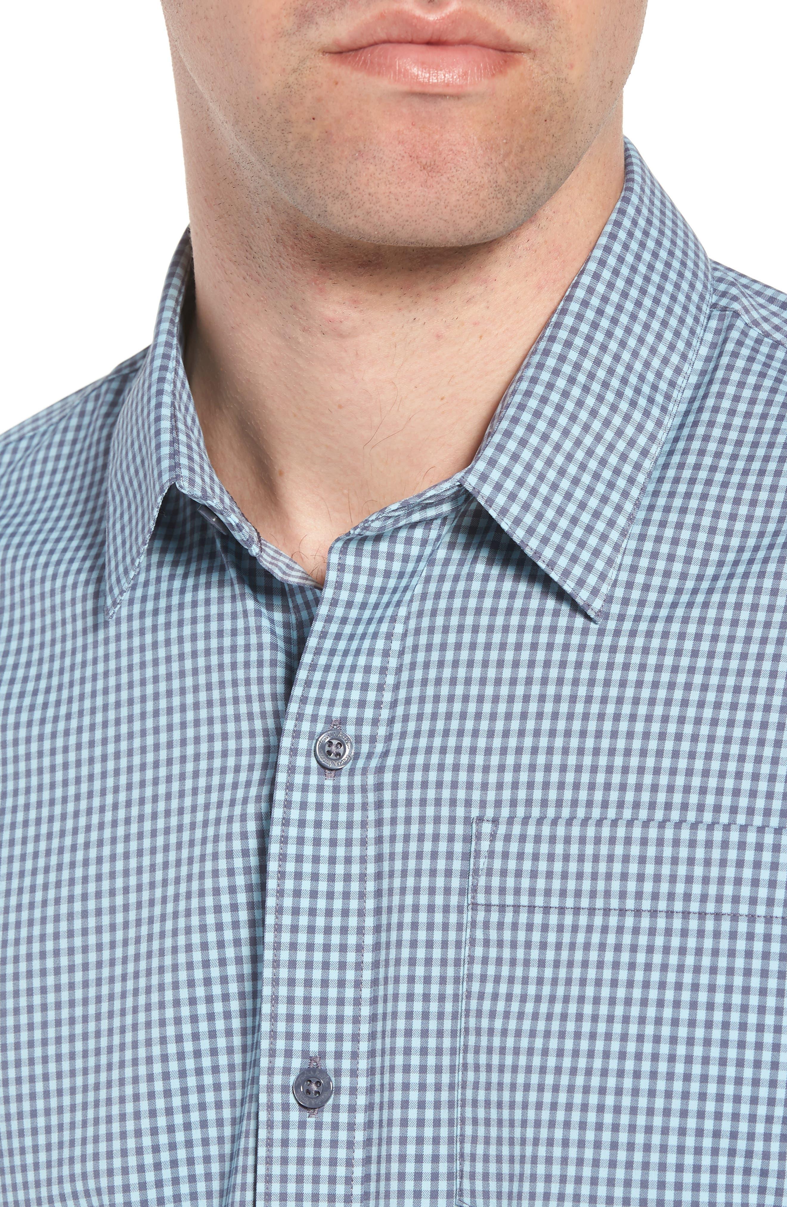Gygax Regular Fit Sport Shirt,                             Alternate thumbnail 2, color,                             Porcelain Blue