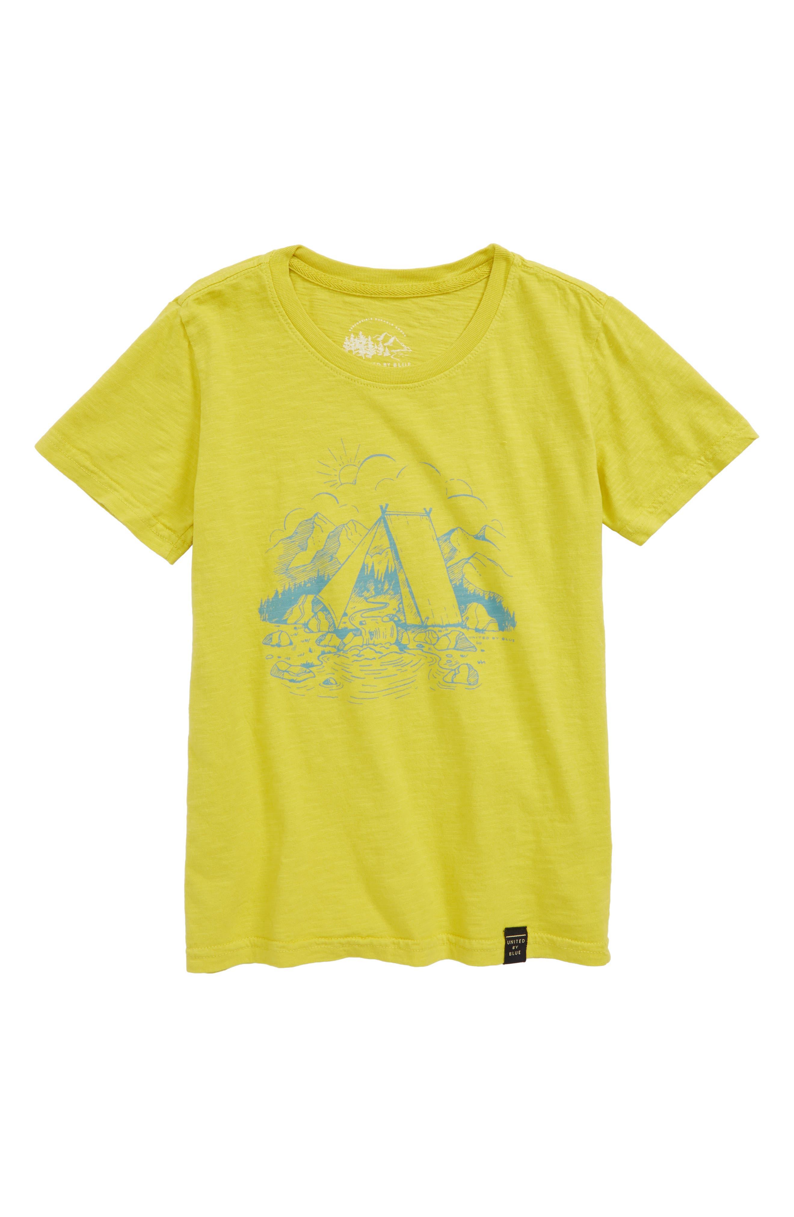 United By Blue Waterfall Organic Cotton T-Shirt (Little Boys & Big Boys)