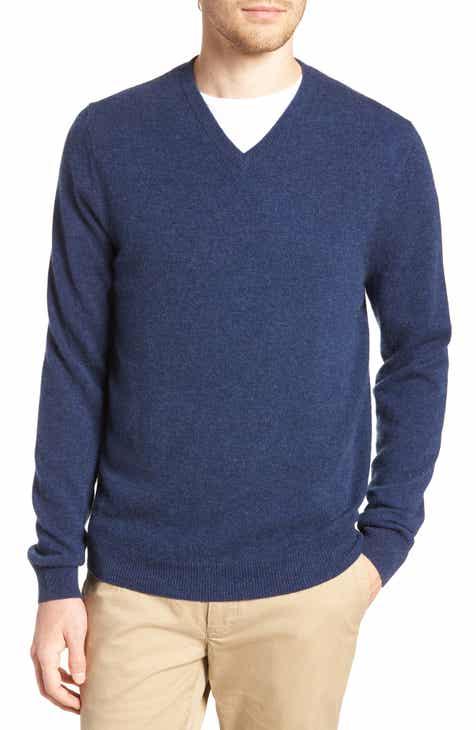 6da6f6657f Nordstrom Men s Shop Cashmere V-Neck Sweater