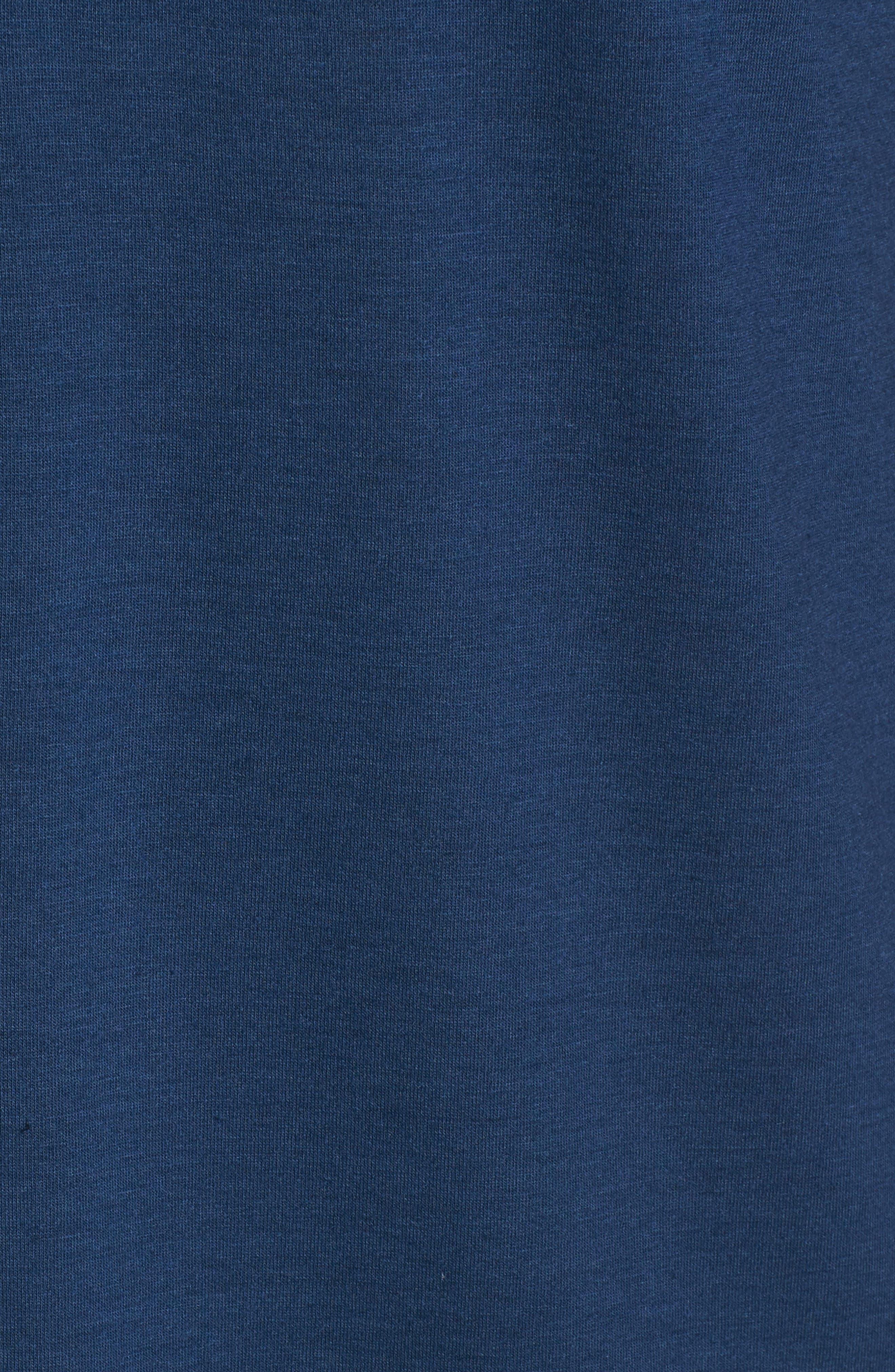Tigua Short Sleeve Henley,                             Alternate thumbnail 5, color,                             Blue