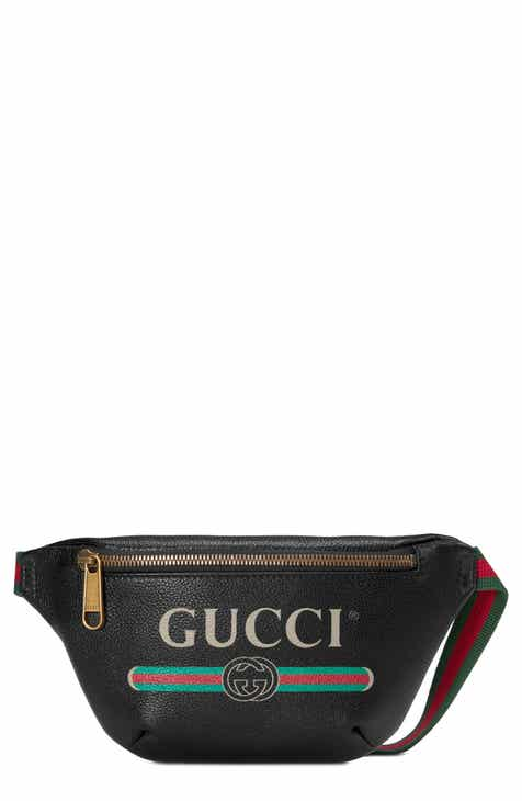 e57f4dd68 Gucci Leather Belt Bag