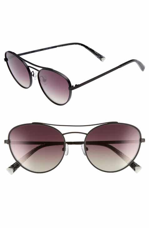 55dbe63bb8 KENDALL + KYLIE Yasmin 55mm Aviator Sunglasses