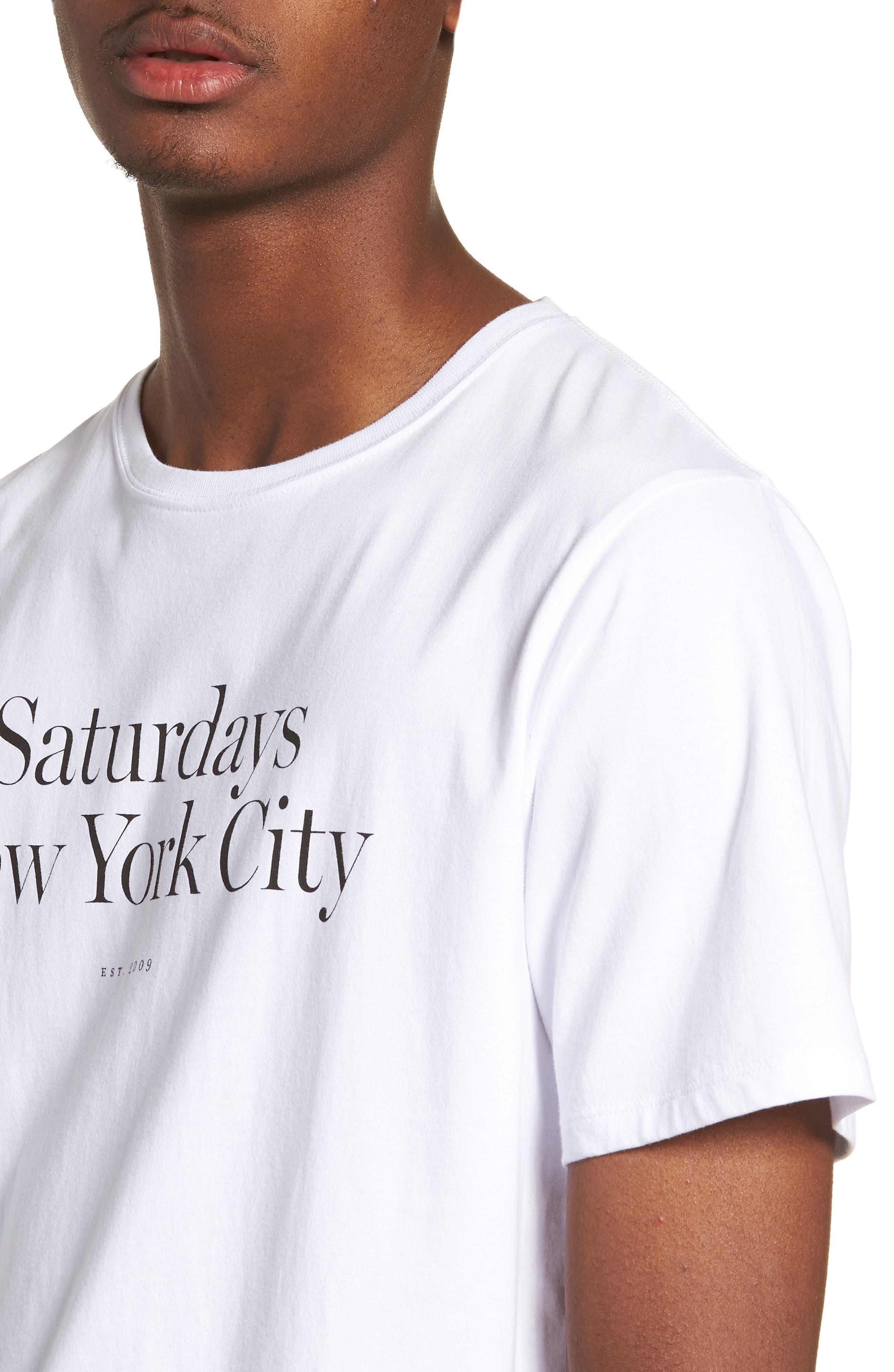 Miller Standard T-Shirt,                             Alternate thumbnail 4, color,                             White