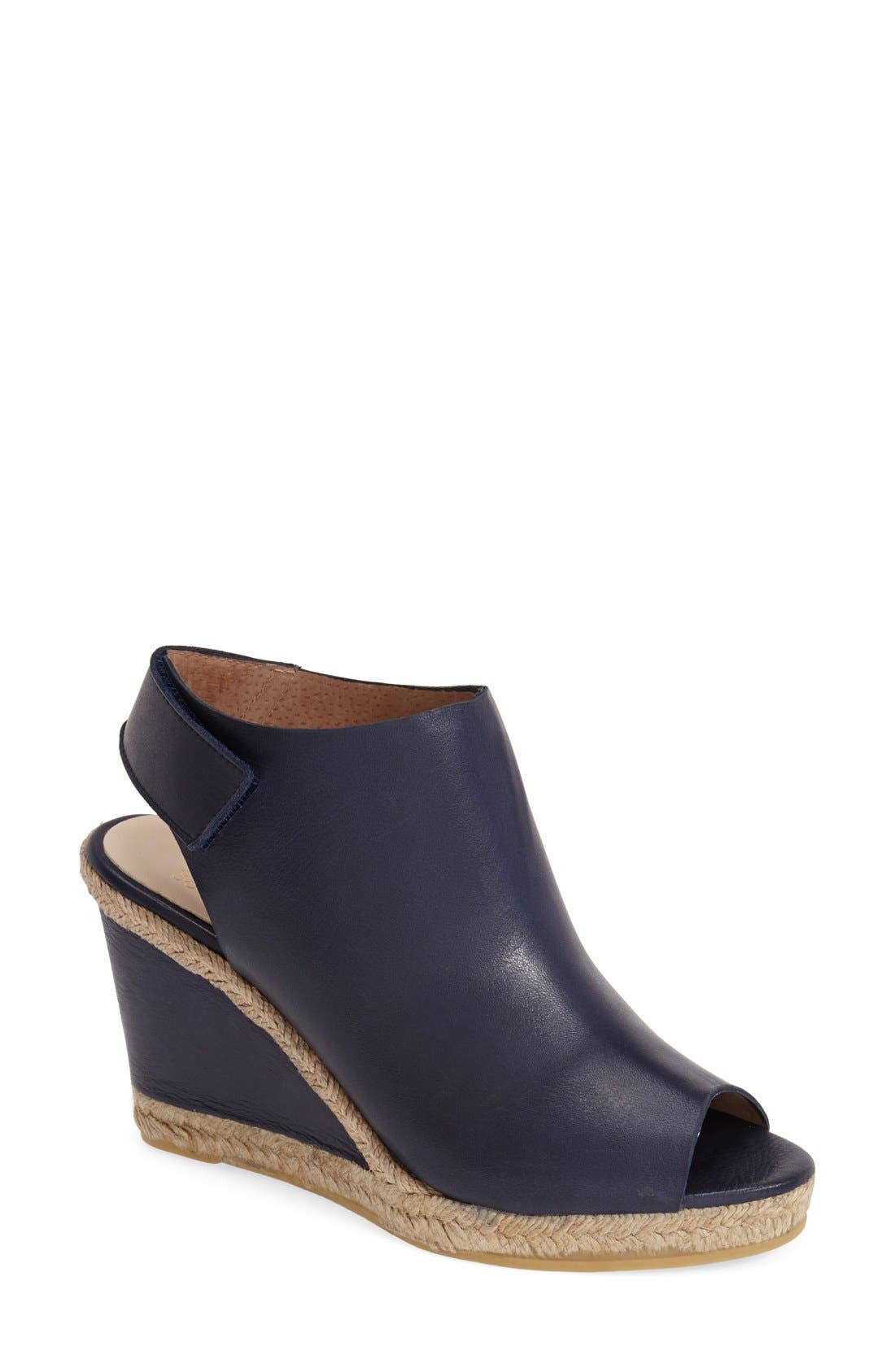 Alternate Image 1 Selected - André Assous 'Beatrice' Wedge Sandal (Women)