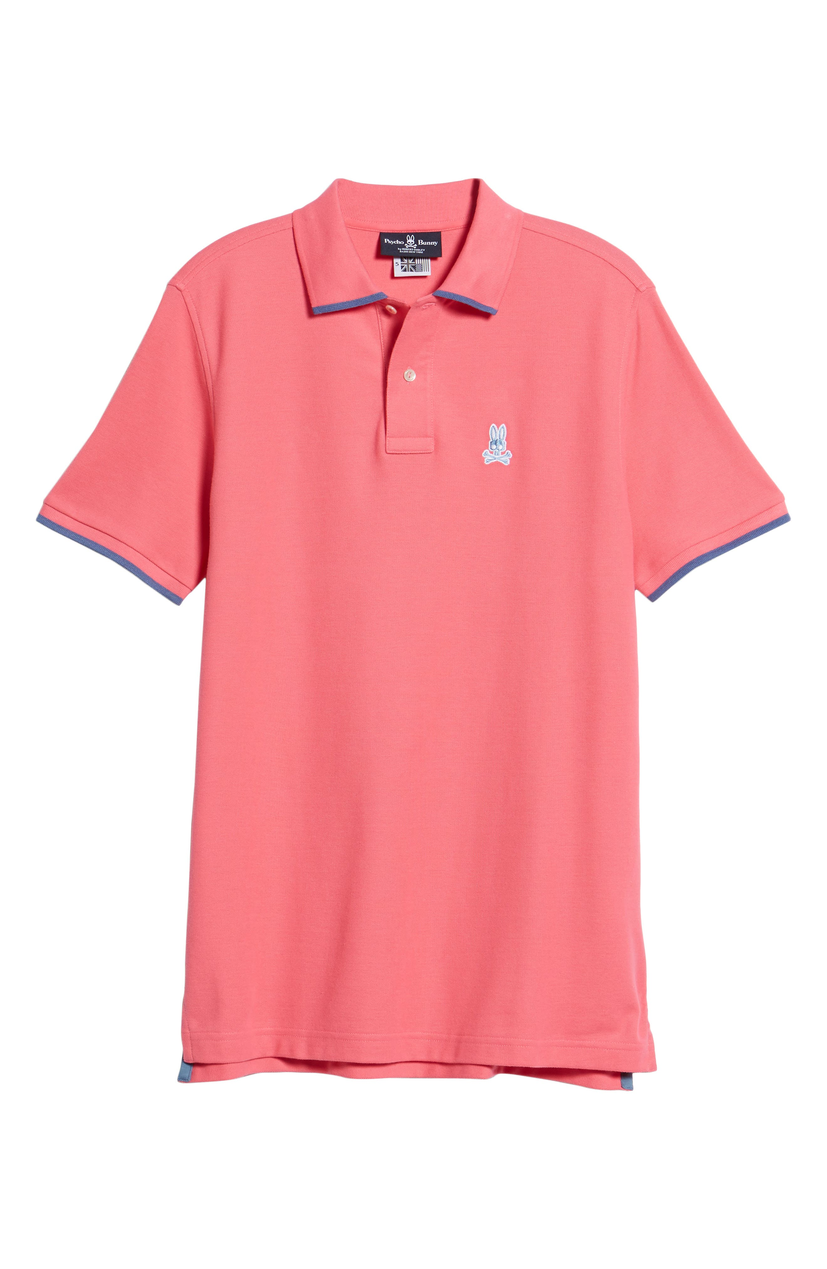 Sandford Polo,                             Alternate thumbnail 6, color,                             Hot Pink