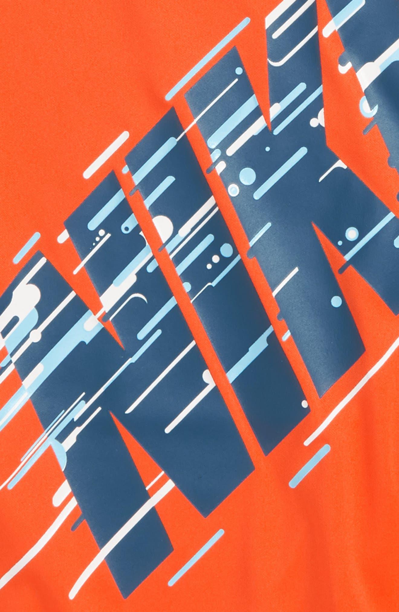 Motion Logo Graphic T-Shirt,                             Alternate thumbnail 2, color,                             Rush Orange