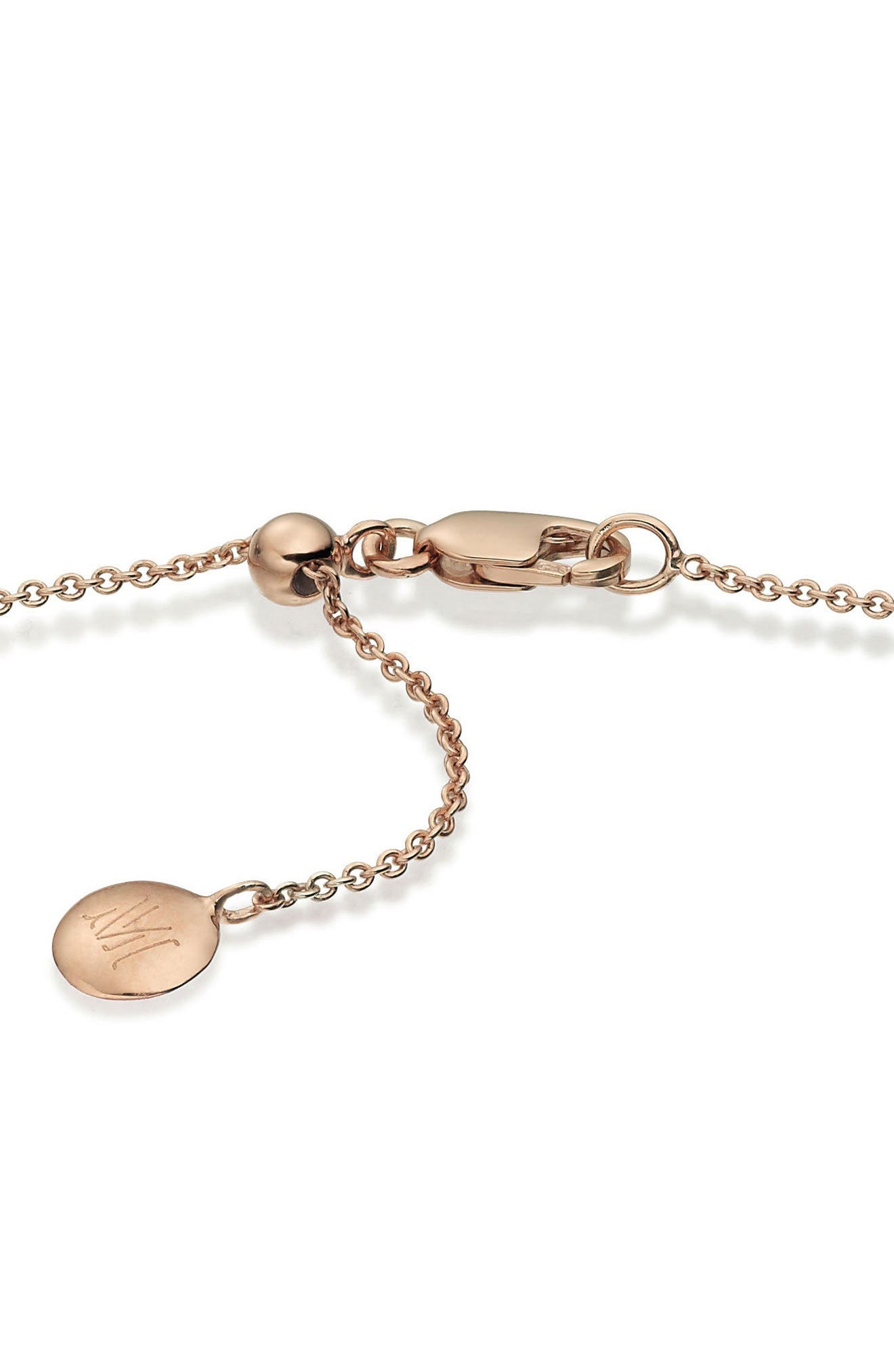 24-Inch Rolo Chain,                             Alternate thumbnail 2, color,                             Rose Gold
