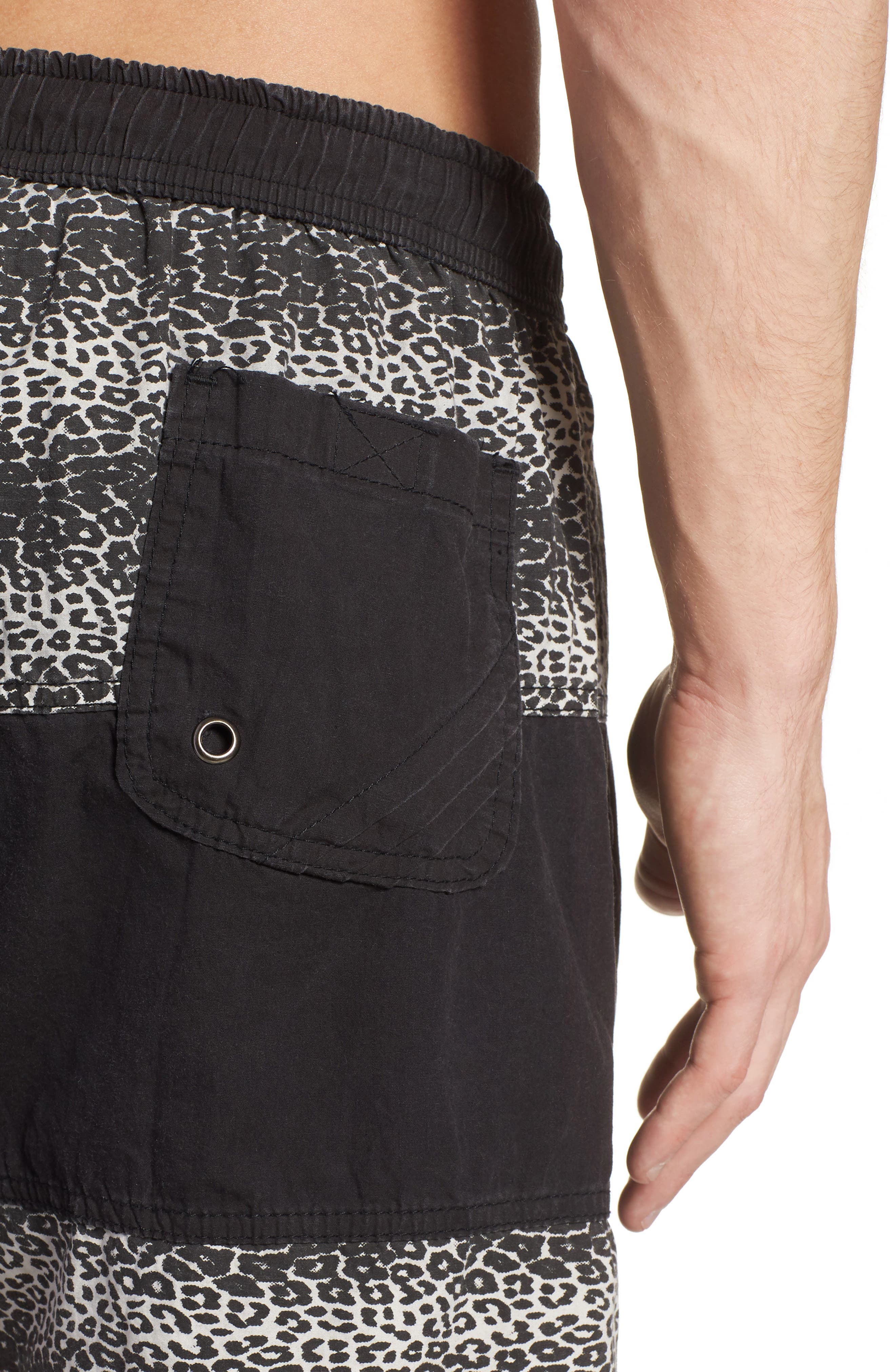 Easy Boardie Shorts,                             Alternate thumbnail 4, color,                             Snow Leopard