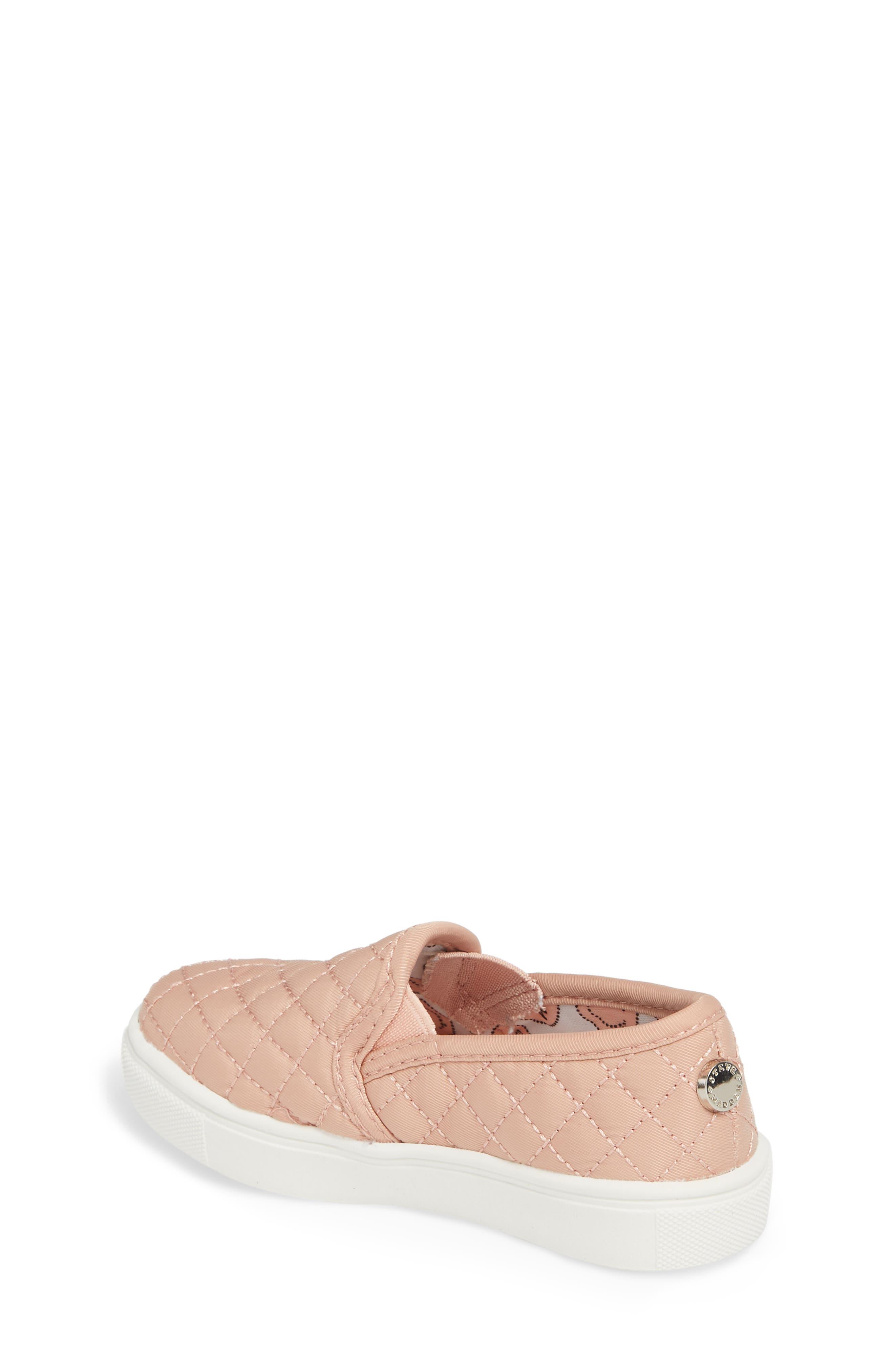 Alternate Image 2  - Steve Madden Tecntrc Quilted Slip-On Sneaker (Toddler)