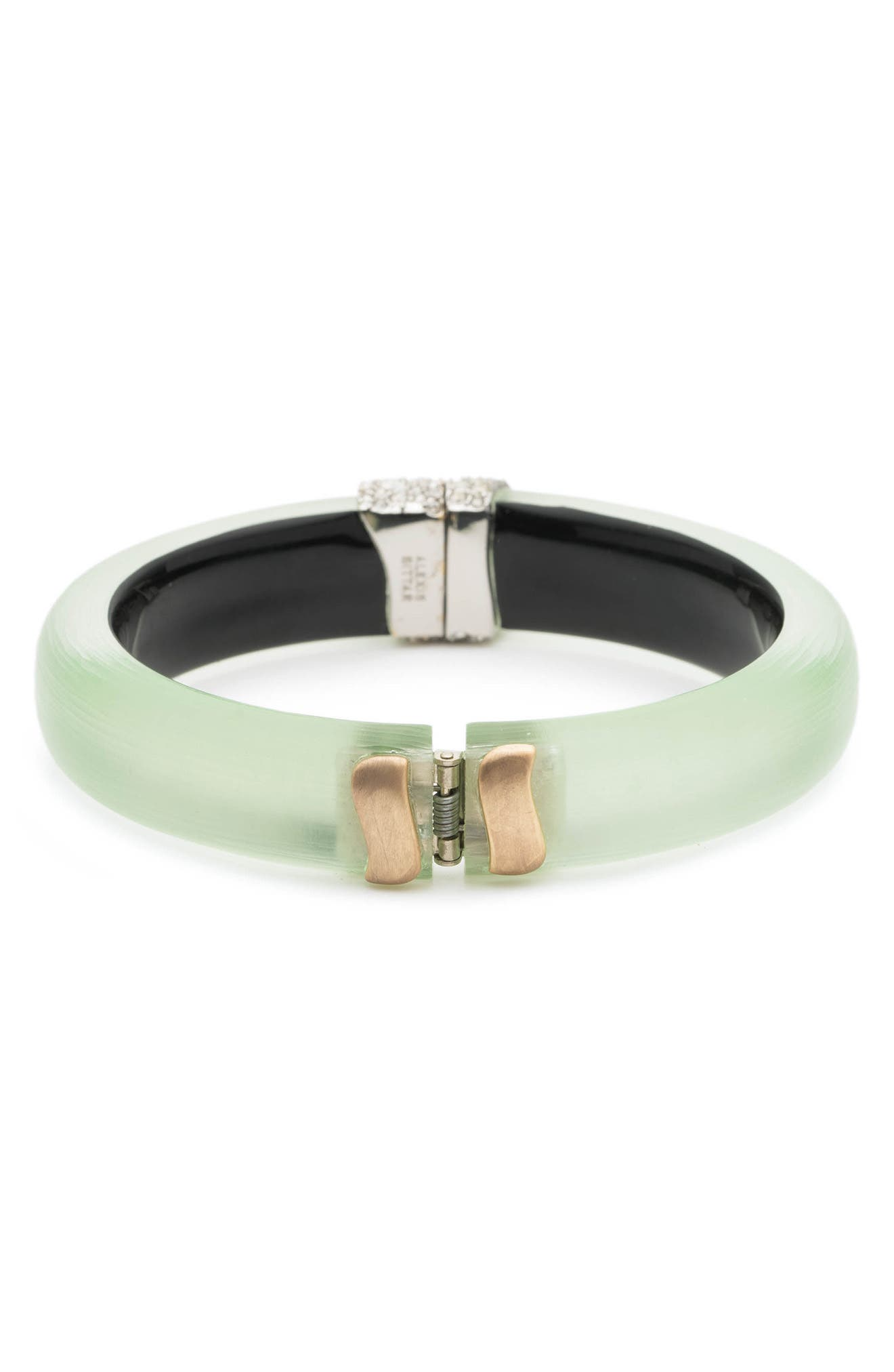 Crystal Encrusted Roxbury Bracelet,                             Alternate thumbnail 2, color,                             Seafoam