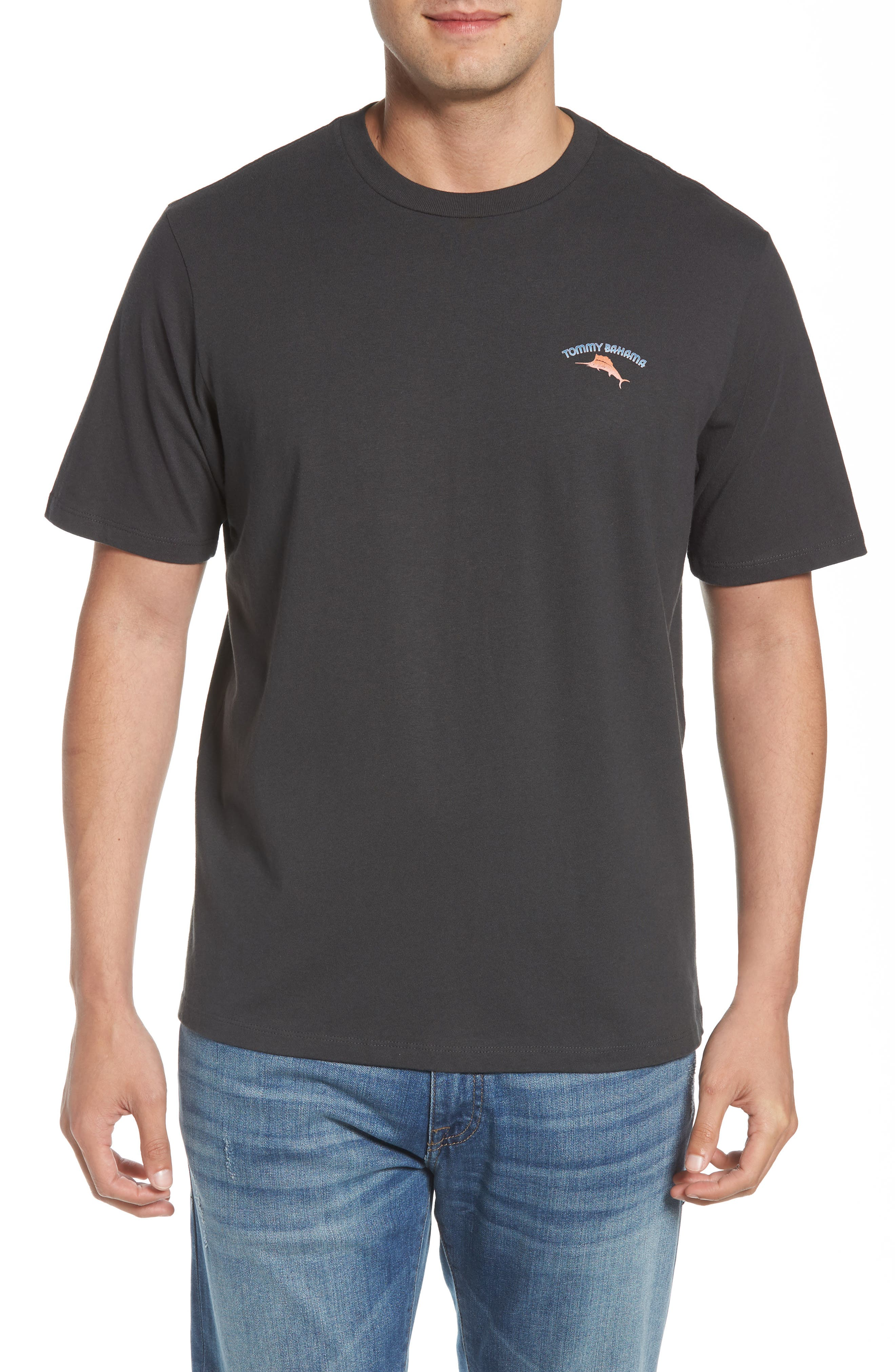 Bromingos T-Shirt,                             Main thumbnail 1, color,                             Coal