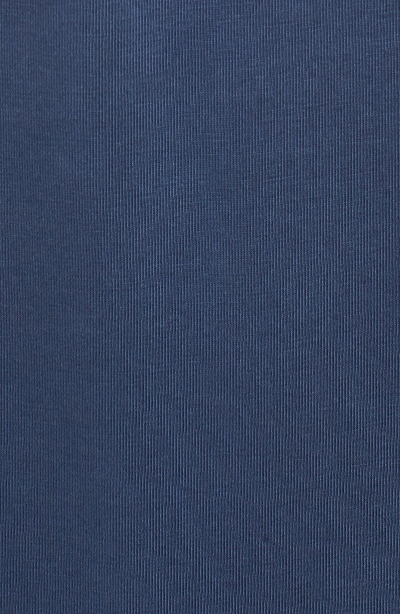 Anders Slim Fit Pocket T-Shirt,                             Alternate thumbnail 5, color,                             Sun Faded Blue Plume