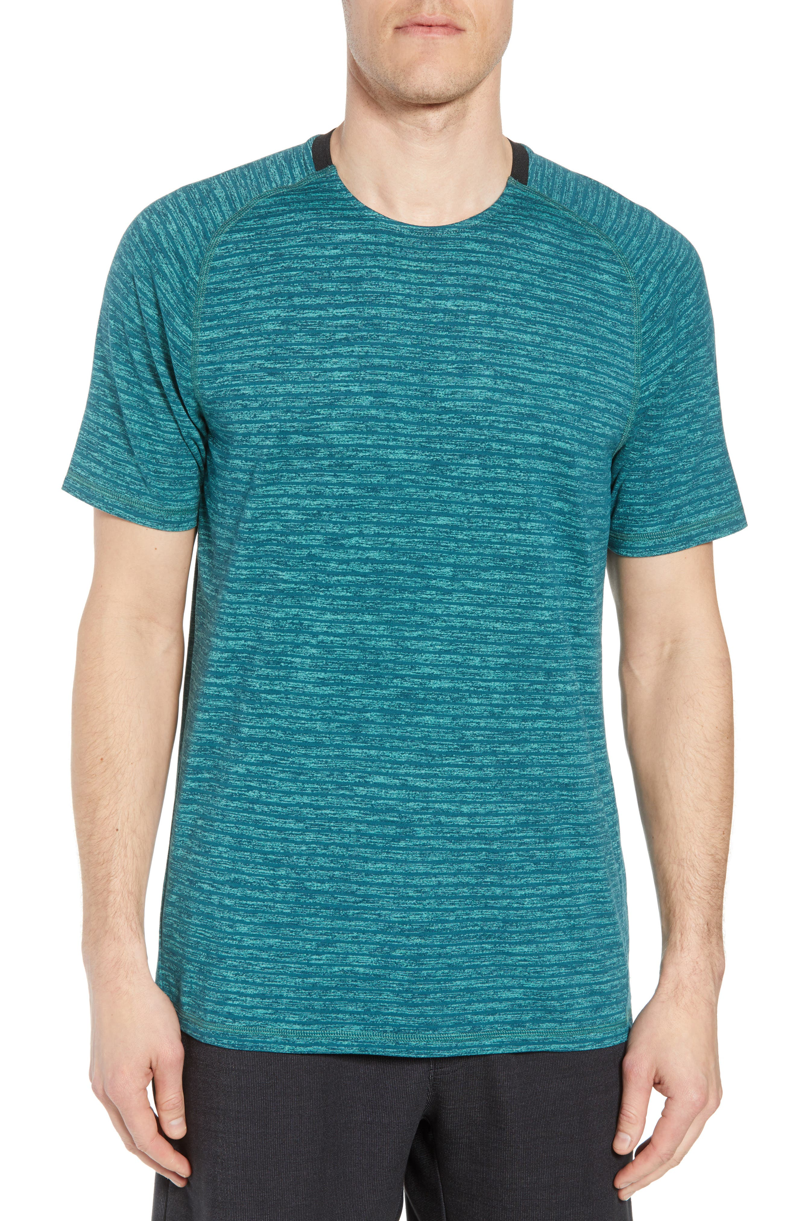 Zella Stripe Crewneck T-Shirt