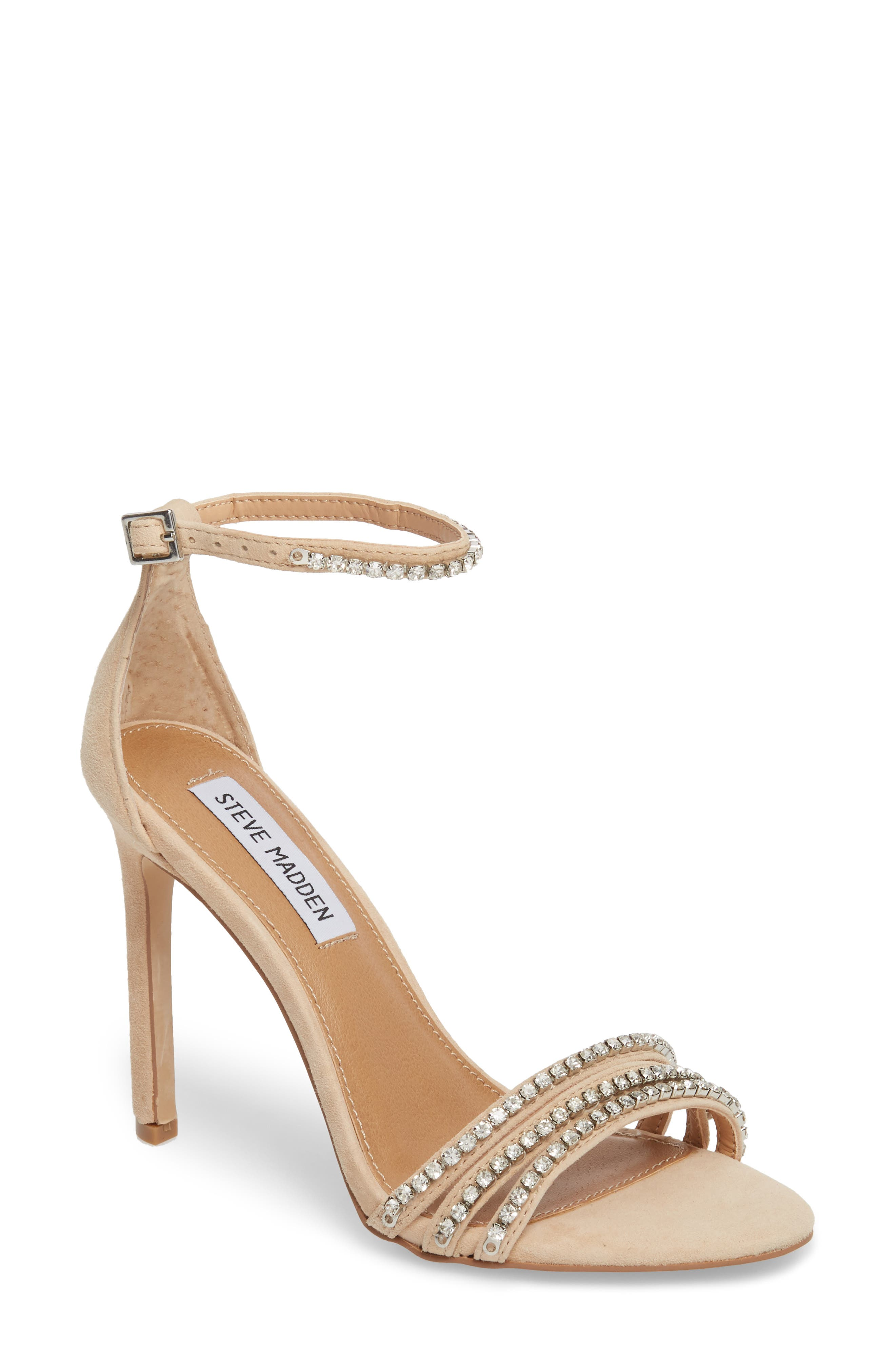 Sterling Embellished Sandal,                             Main thumbnail 1, color,                             Blush Multi