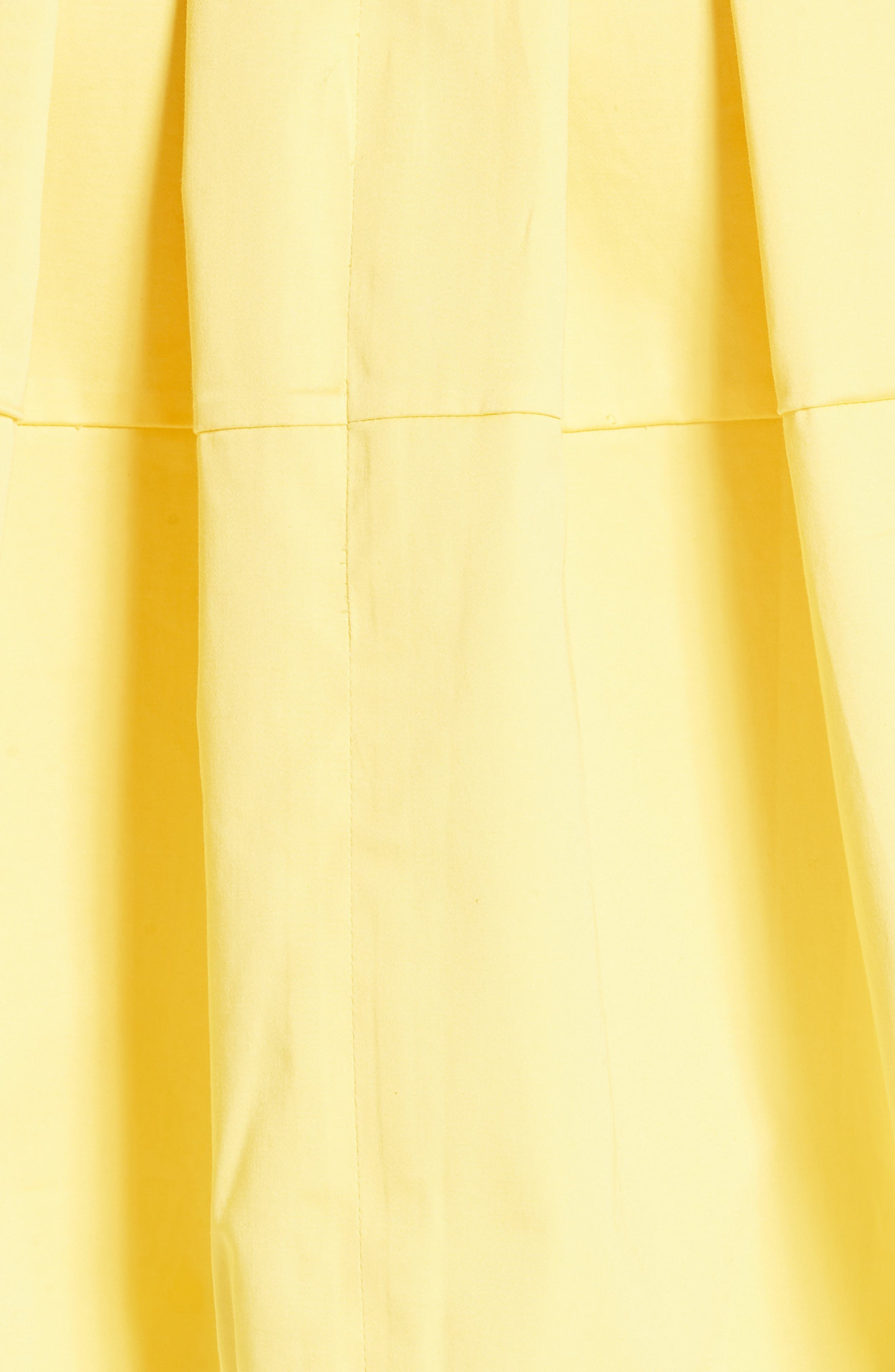 Jullee Off the Shoulder Stretch Cotton Dress,                             Alternate thumbnail 5, color,                             Yellow