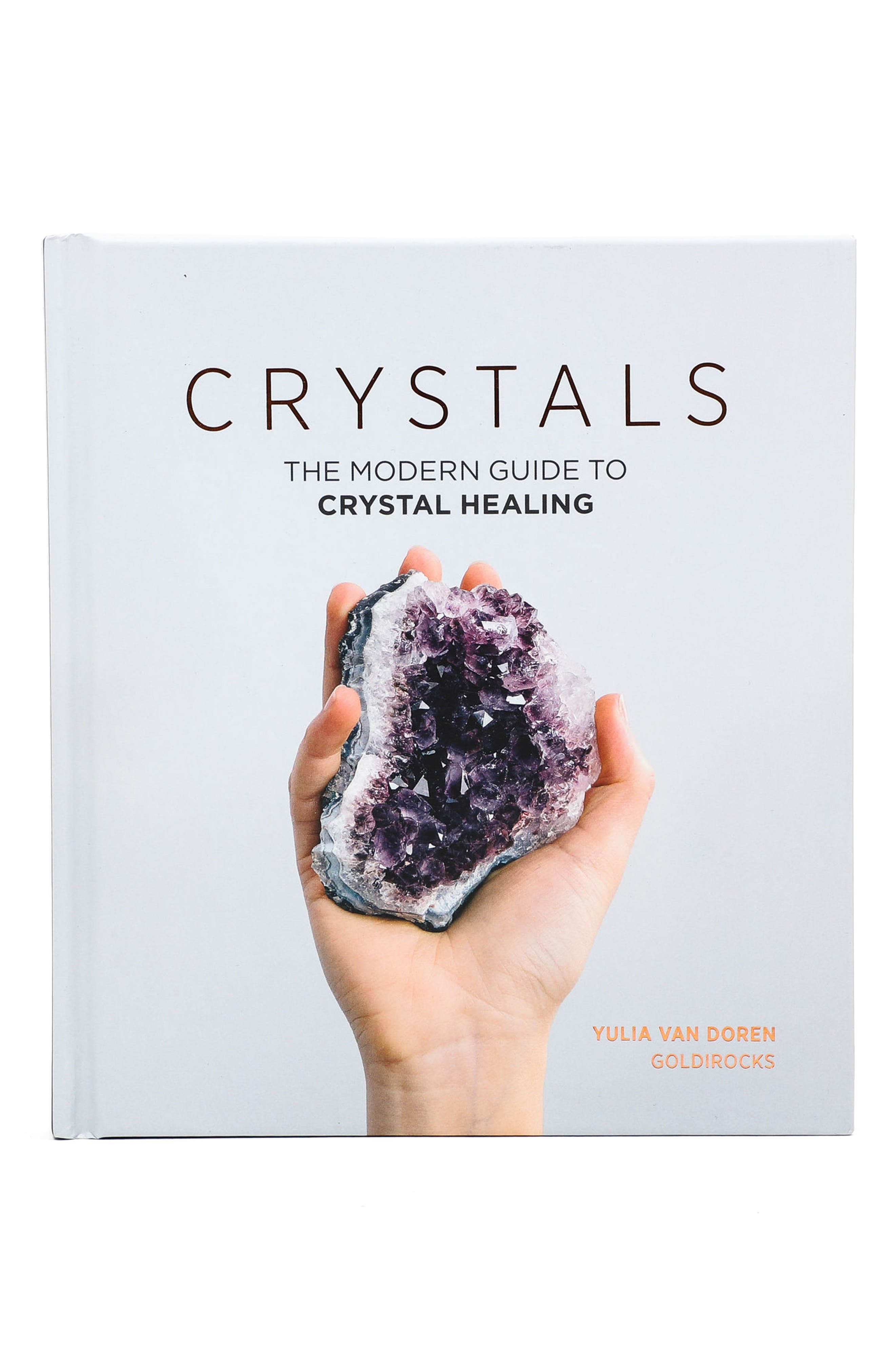 Crystals: The Modern Guide To Crystal Healing Book,                             Main thumbnail 1, color,                             Silver