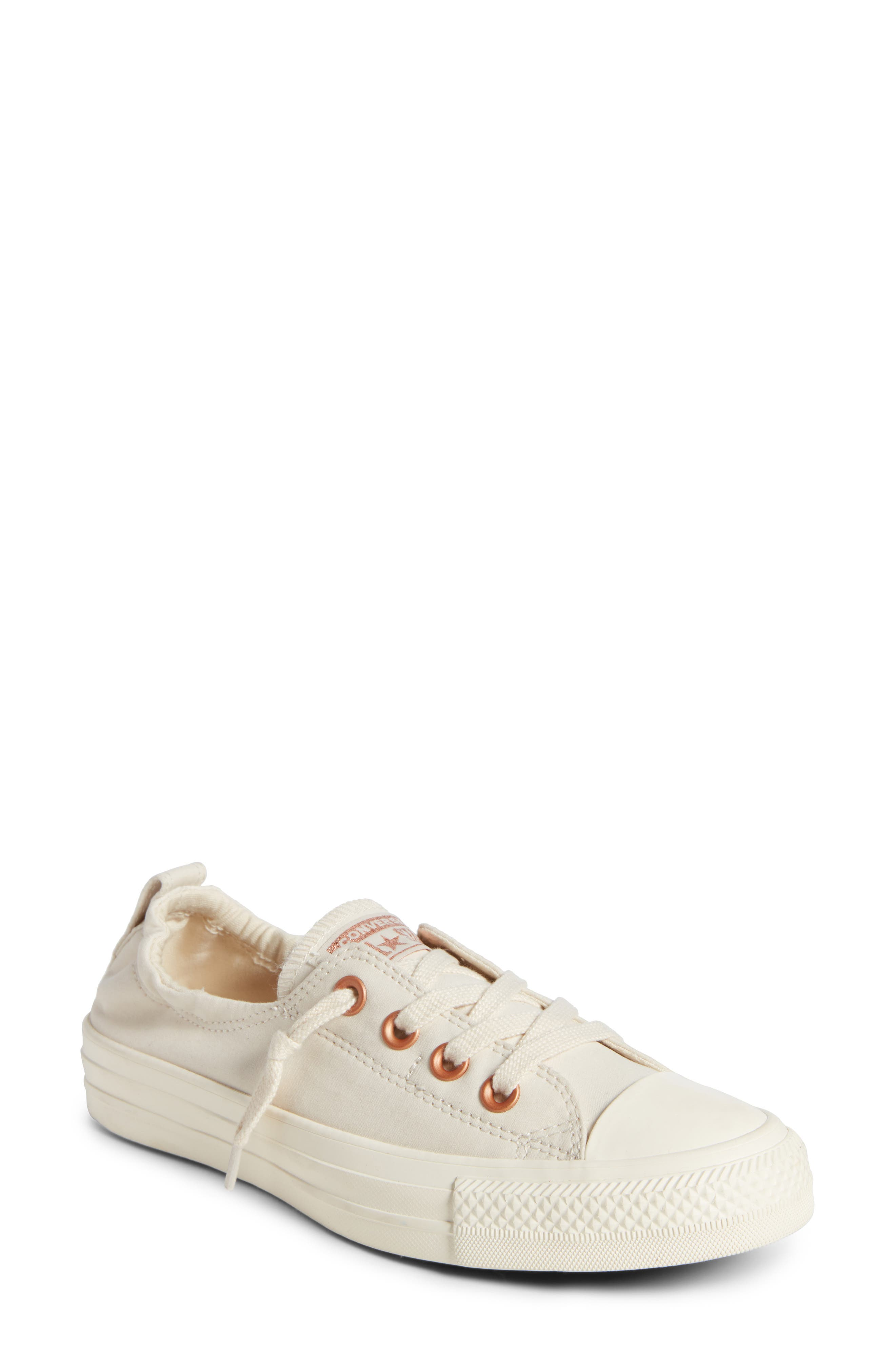 Chuck Taylor<sup>®</sup> 'Shoreline' Sneaker,                             Main thumbnail 1, color,                             Light Twine
