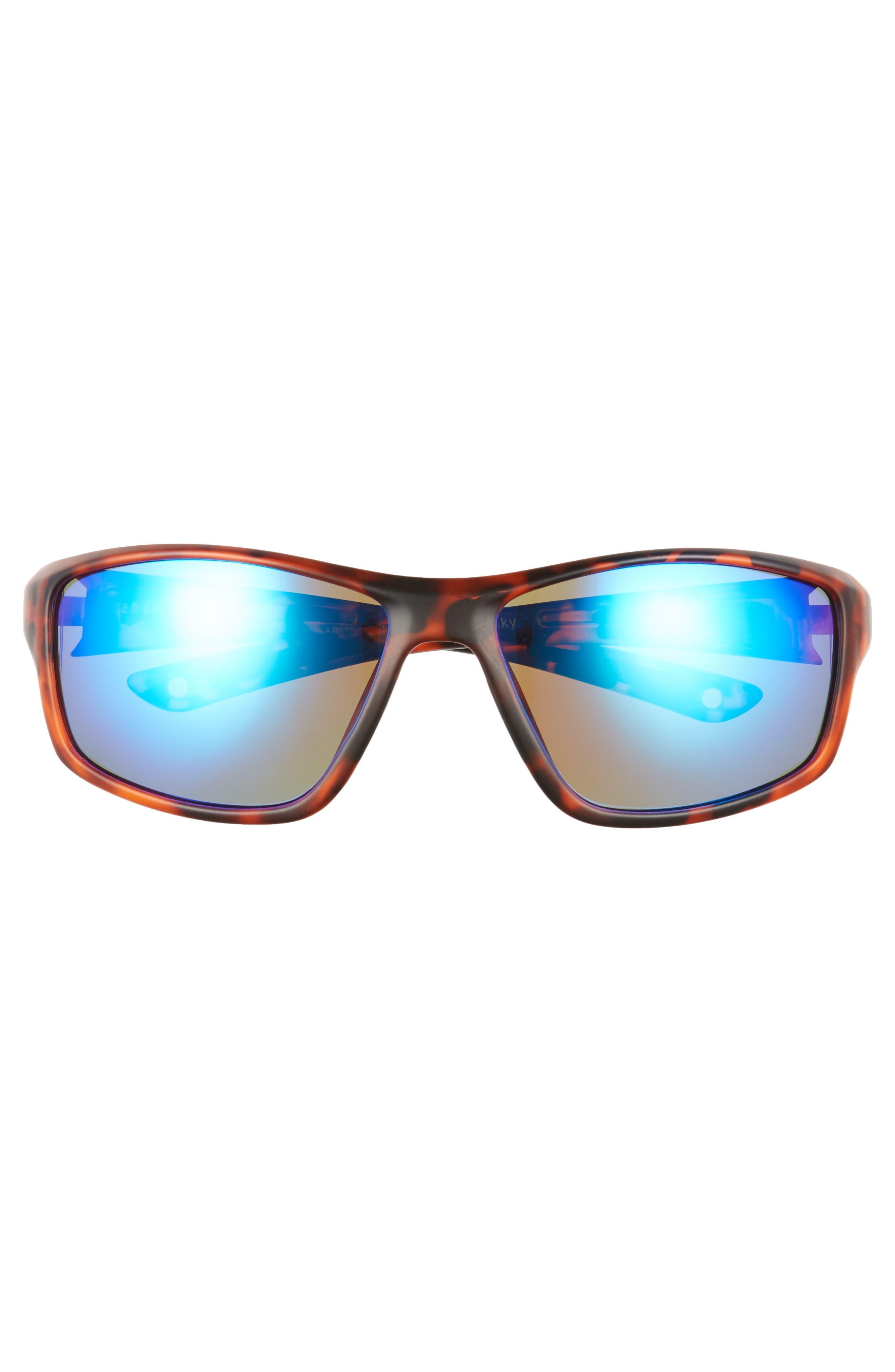 Eddies Floating 58mm Polarized Sunglasses,                             Alternate thumbnail 2, color,                             Tortoise / Marine
