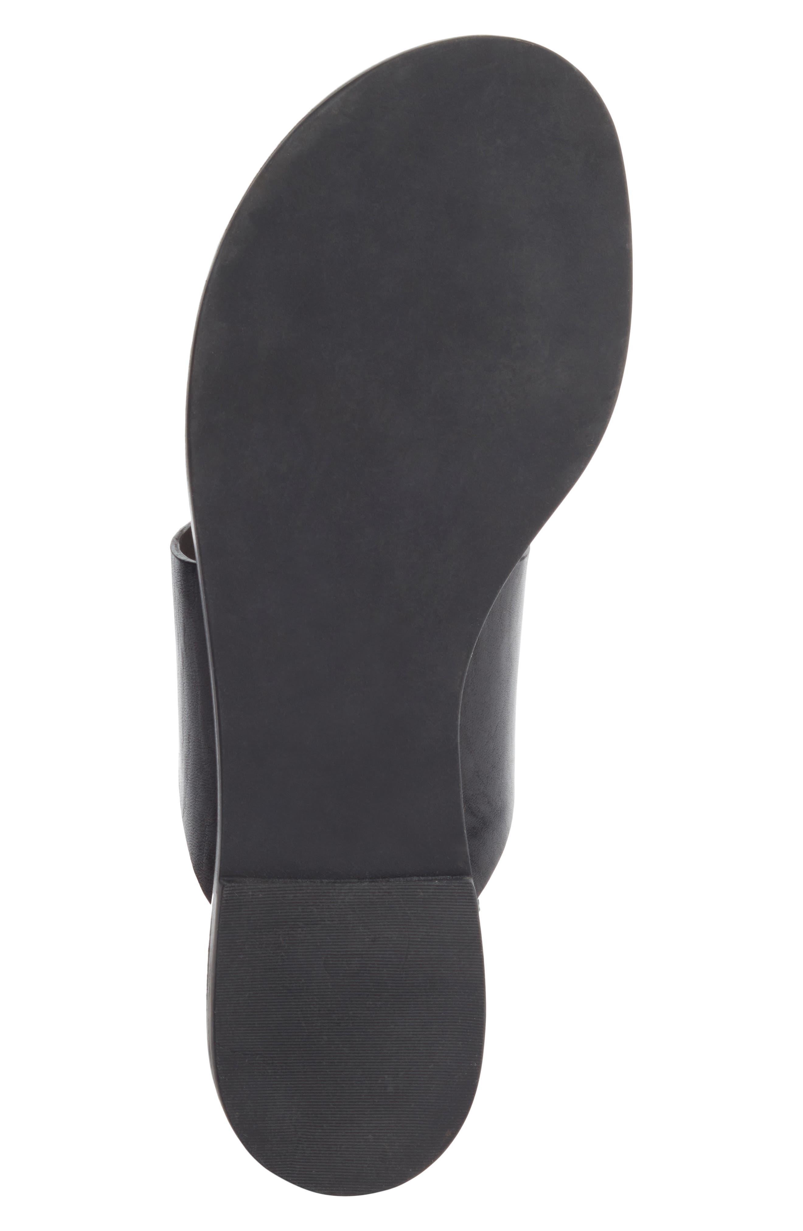 Brannan Studded Sandal,                             Alternate thumbnail 6, color,                             Perfect Black