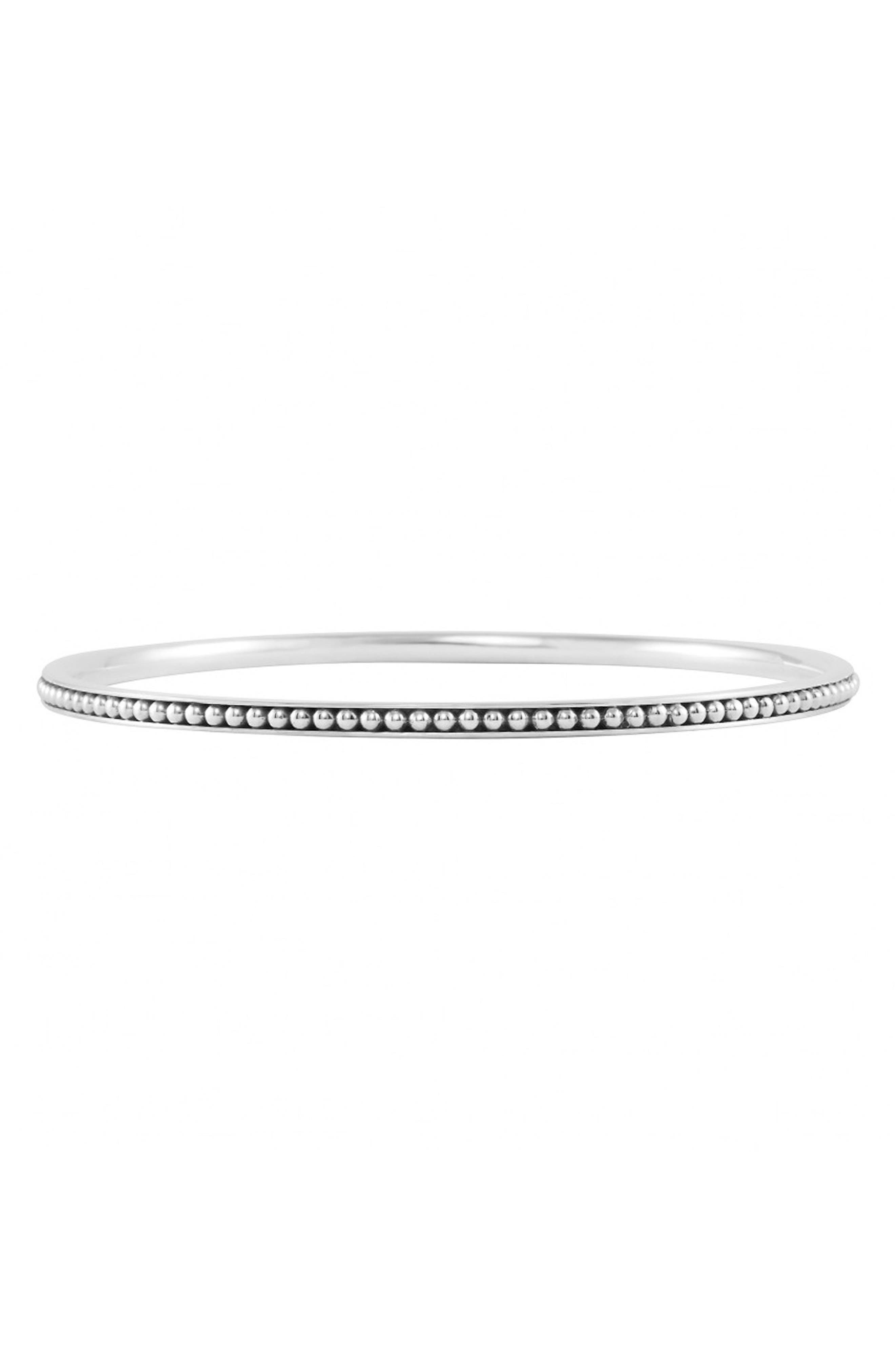 Caviar<sup>™</sup> Bangle,                         Main,                         color, Sterling Silver