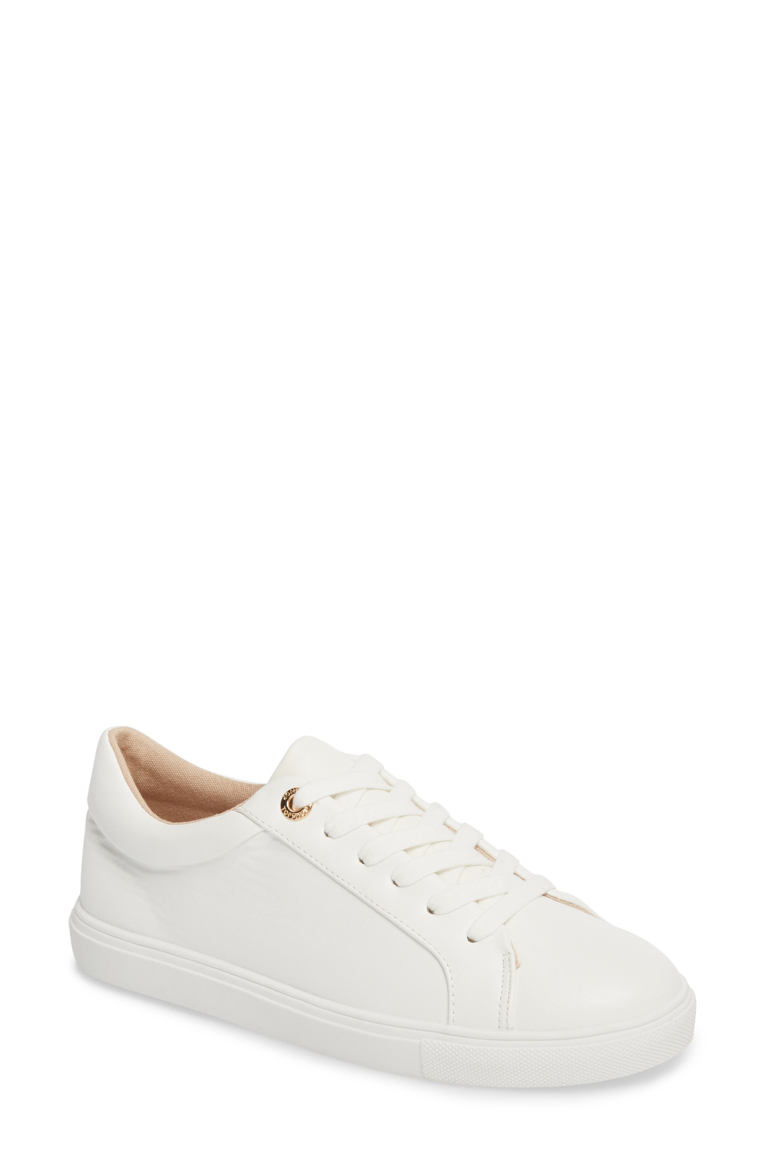 Cookie Low Top Sneaker,                             Main thumbnail 1, color,                             White