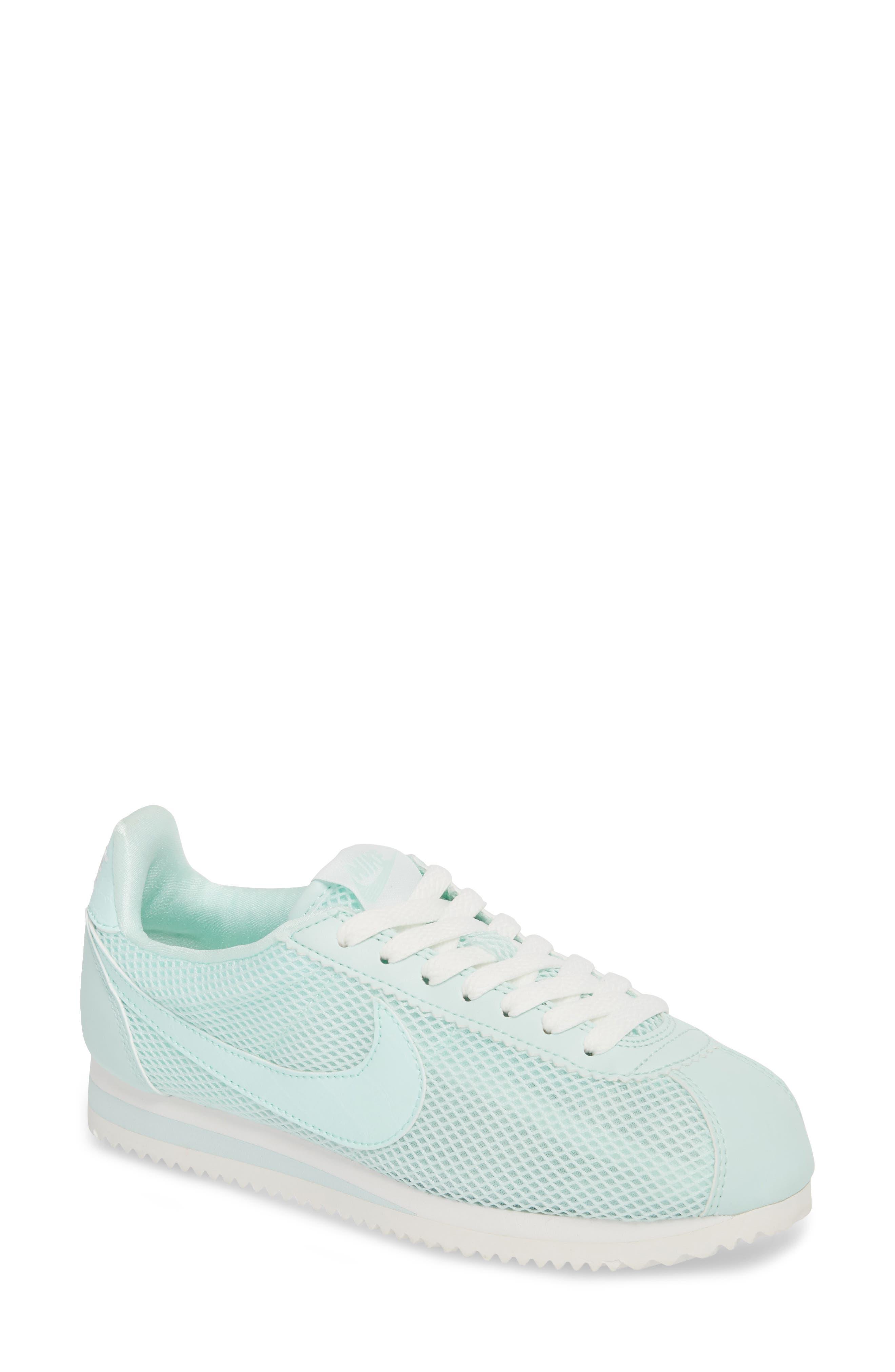 Classic Cortez Premium XLV Sneaker,                         Main,                         color, Igloo/ Igloo/ Summit White