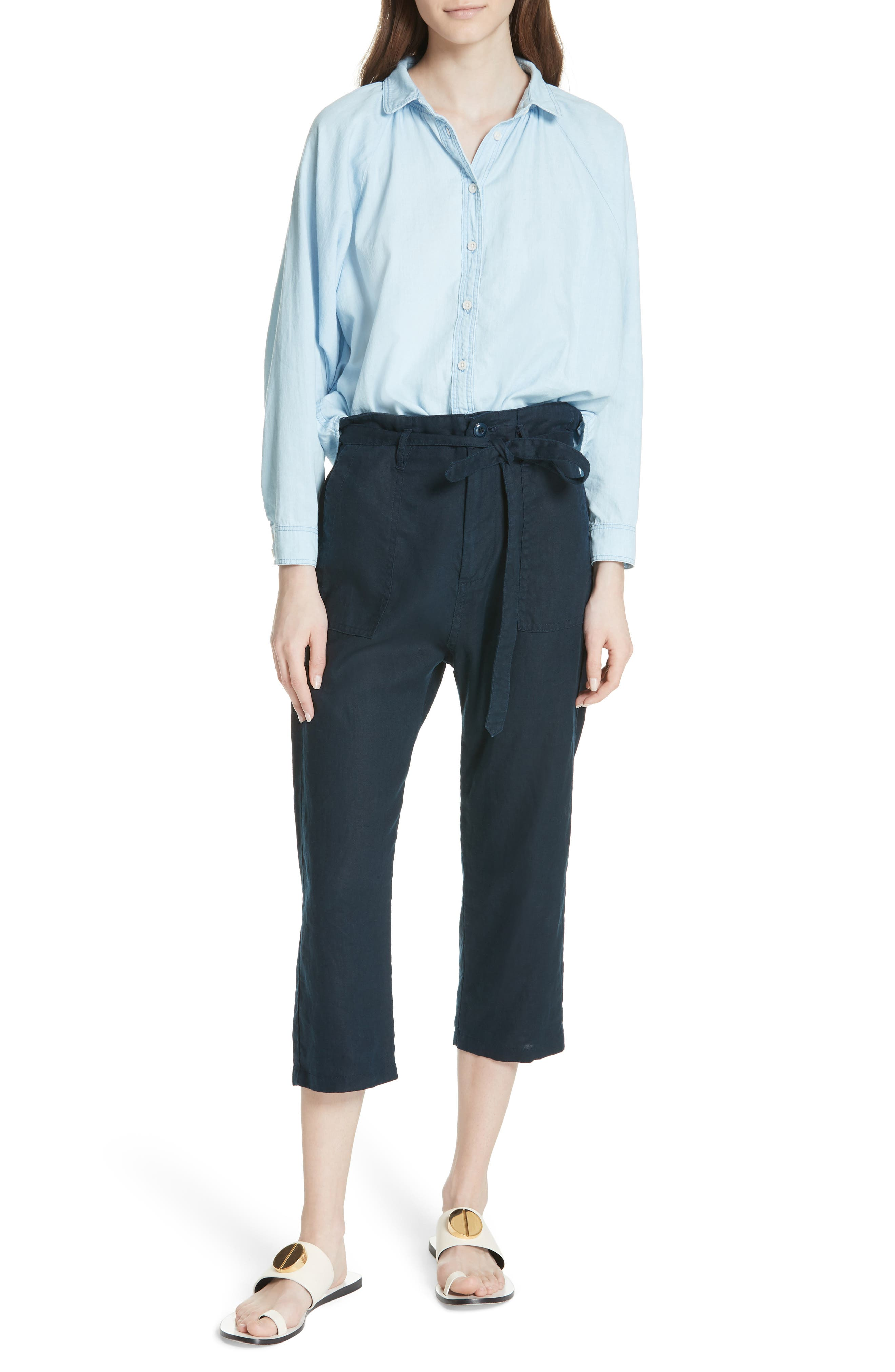 The Convertible Trousers,                             Alternate thumbnail 7, color,                             Navy