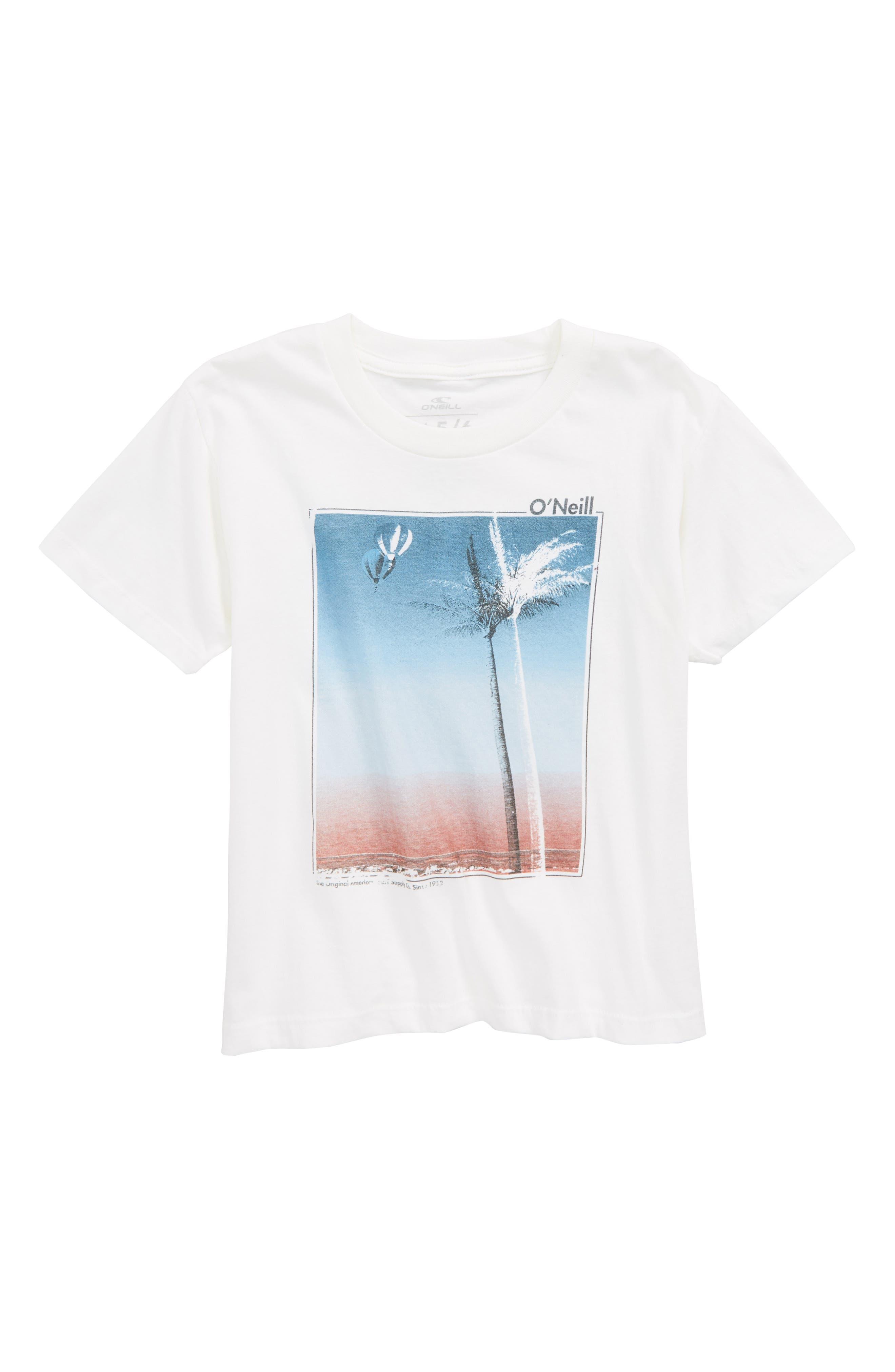 Treez Graphic T-Shirt,                             Main thumbnail 1, color,                             White