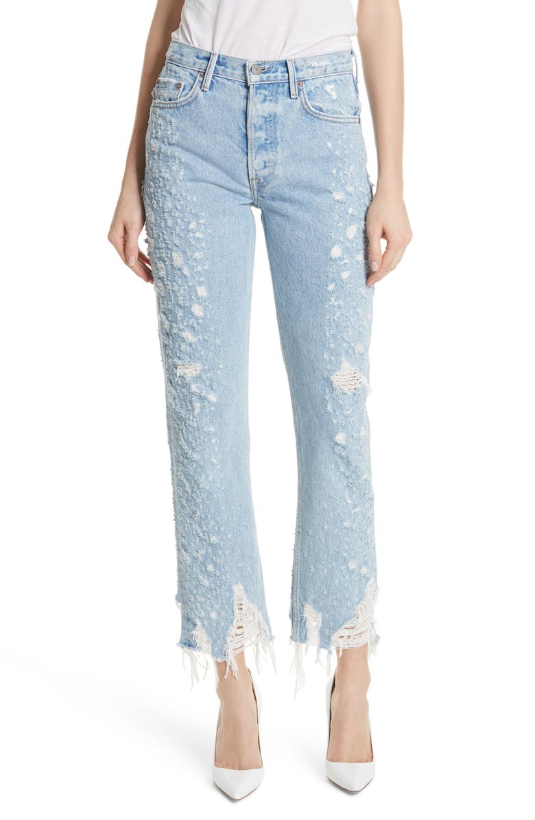 Helena Rigid High Waist Straight Jeans