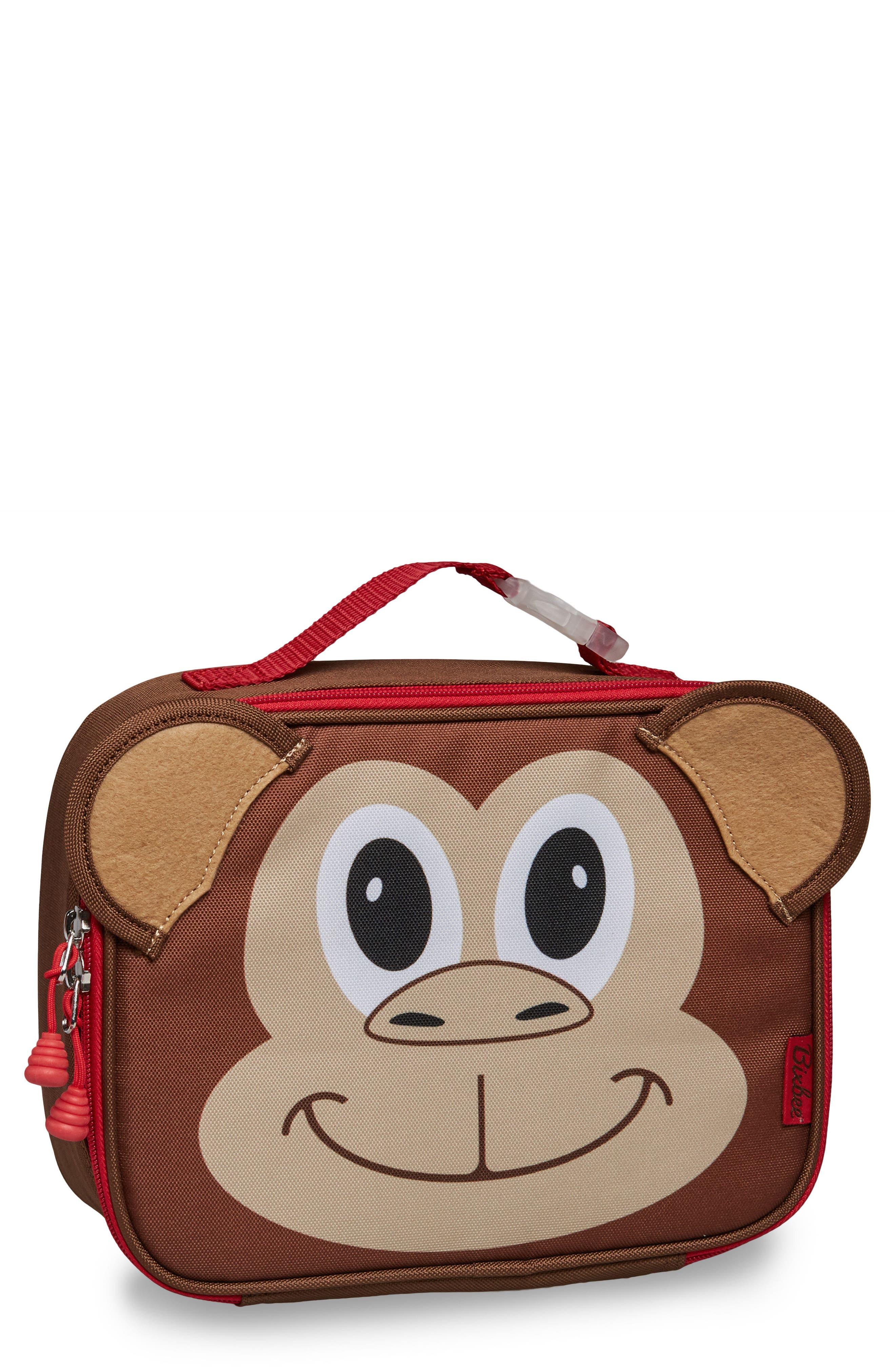 Bixbee Monkey Water Resistant Lunchbox