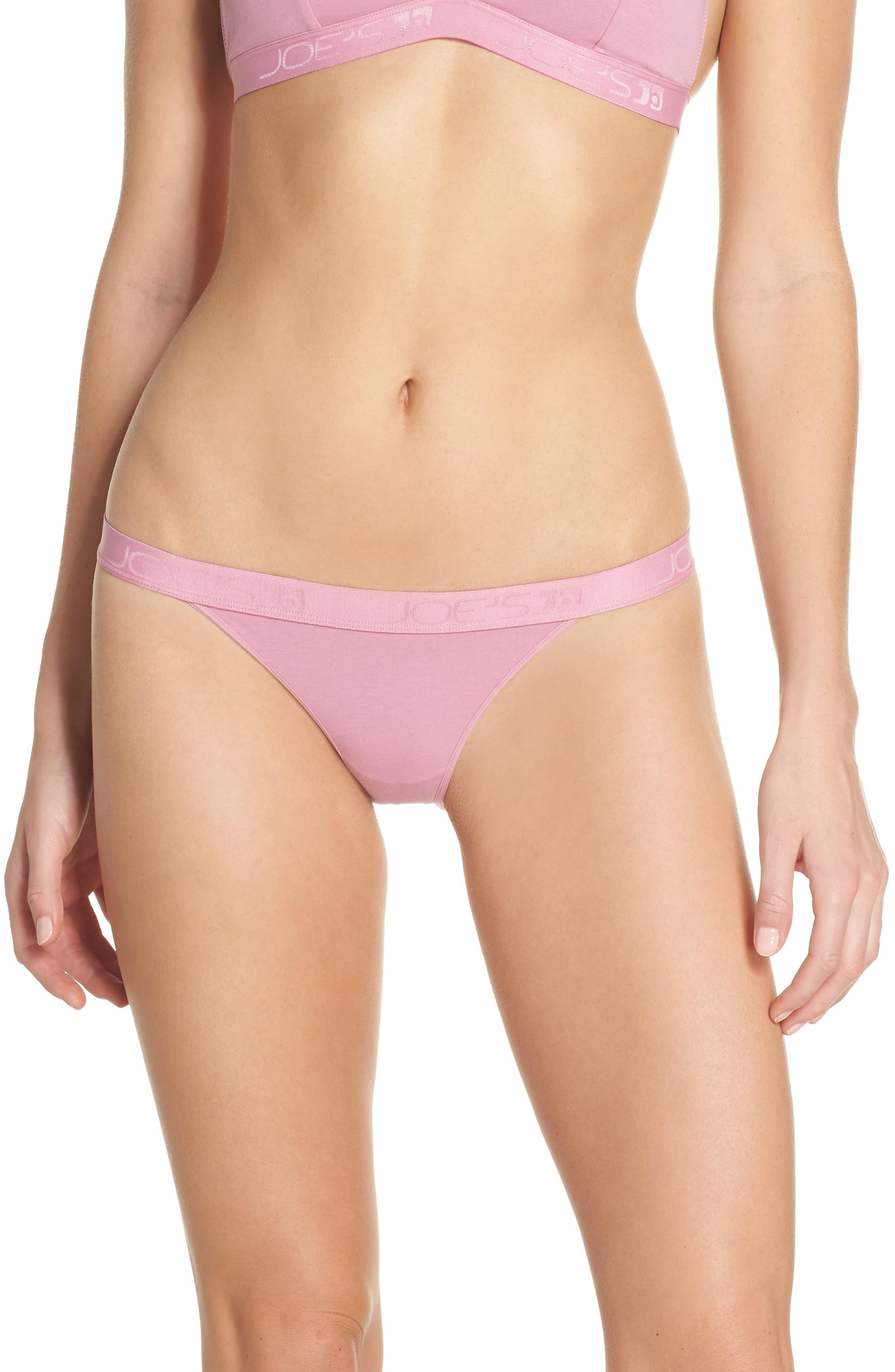 Logo Bikini,                         Main,                         color, Rose Violet