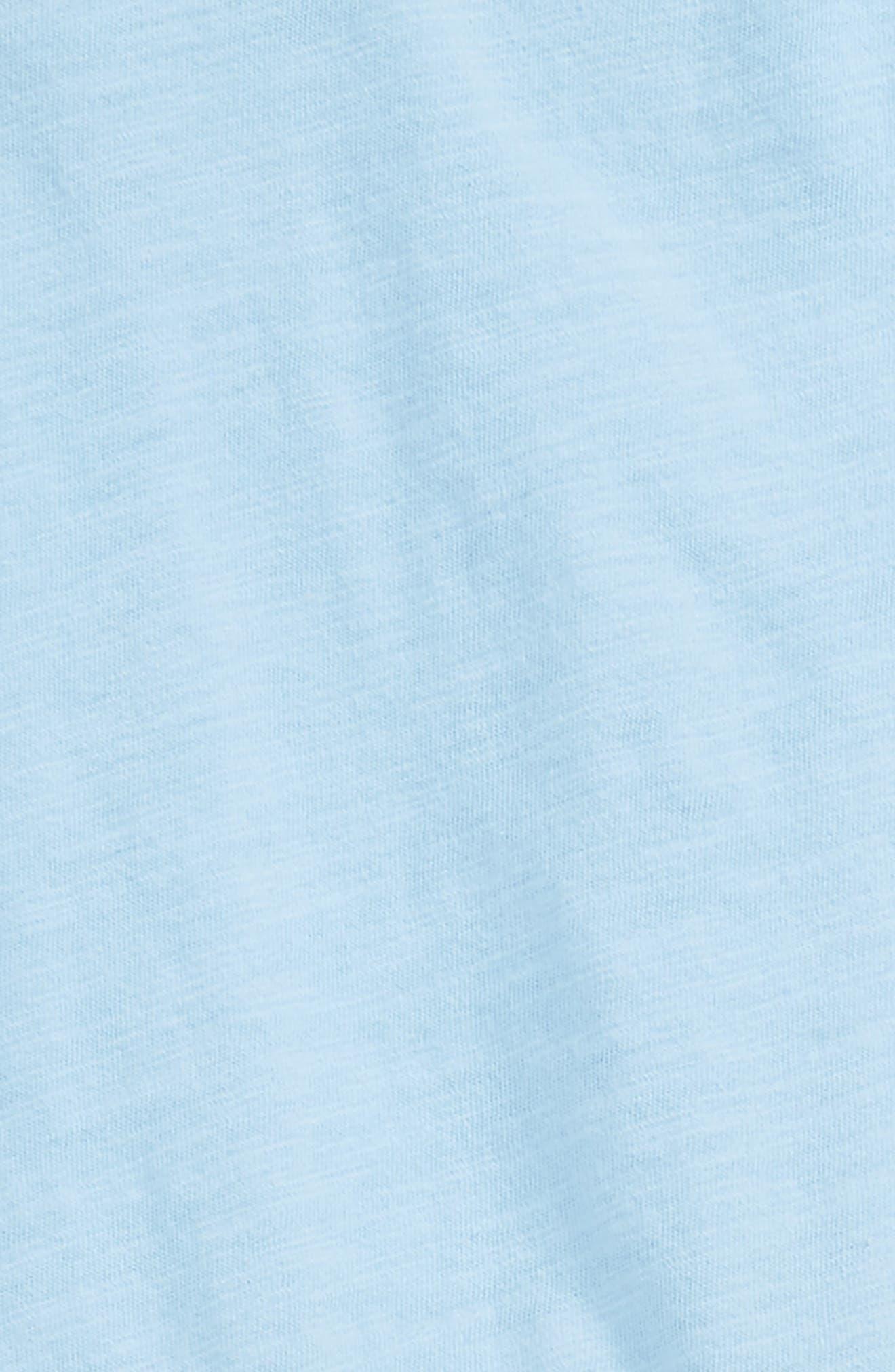Dip Dye Top & Leggings Set,                             Alternate thumbnail 2, color,                             Blue Bell