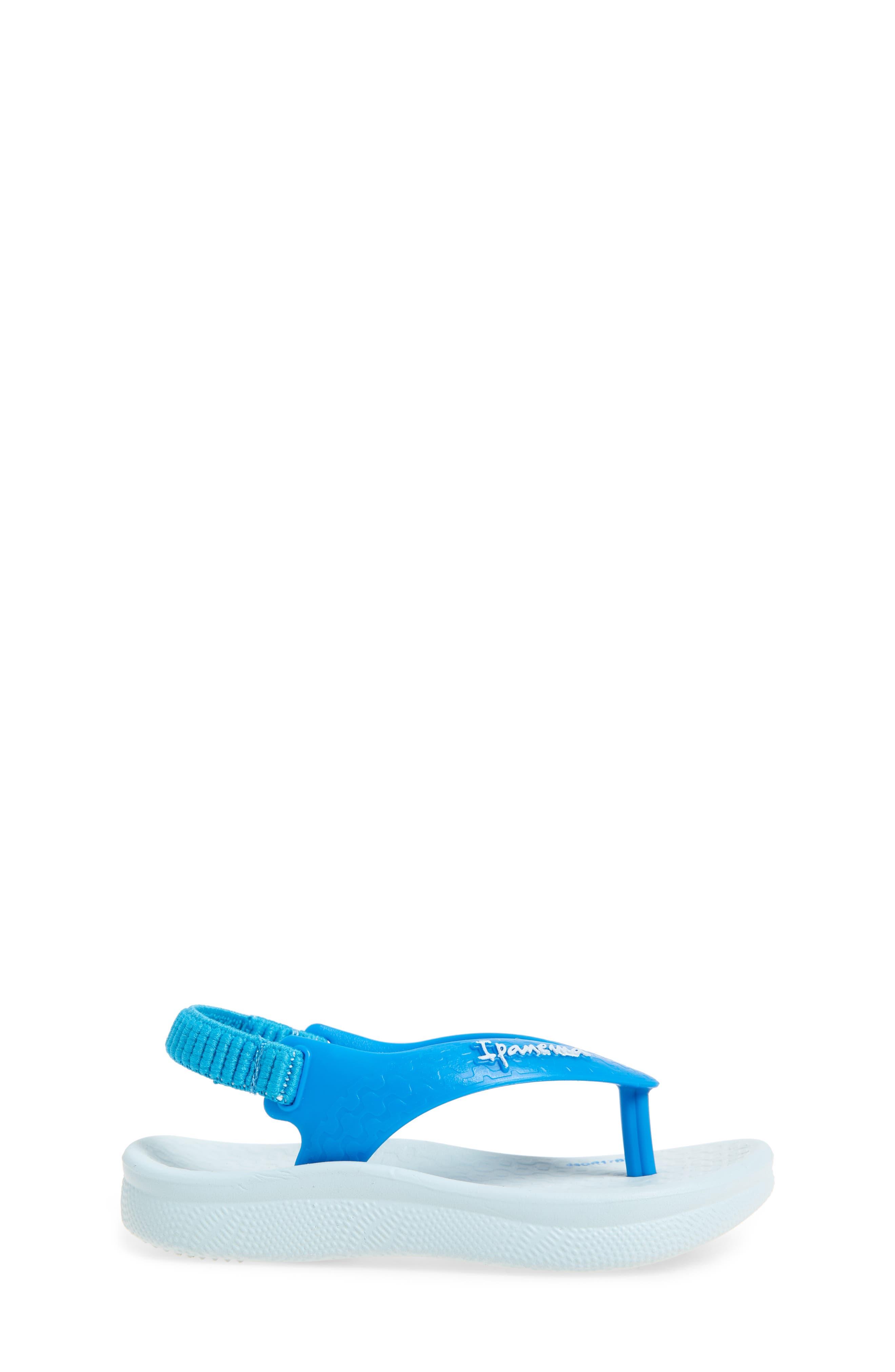 Ana Tan Flip Flop,                             Alternate thumbnail 3, color,                             Blue/ Blue